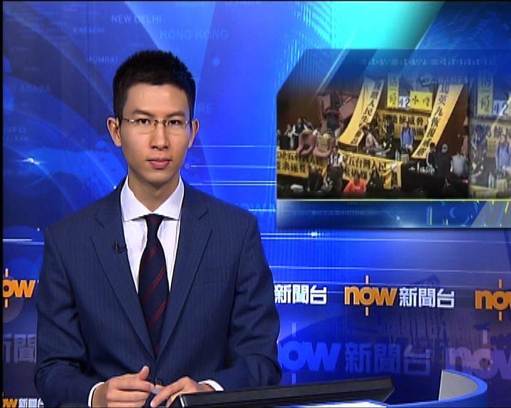 反服貿學生籲國民黨立委回應訴求