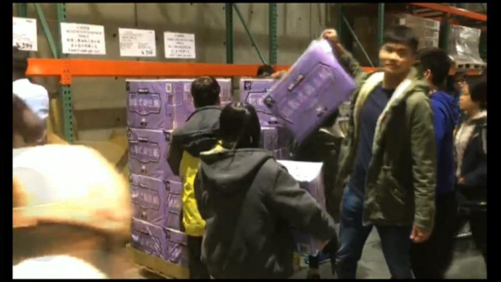 台灣衛生紙加價在即引發搶購潮