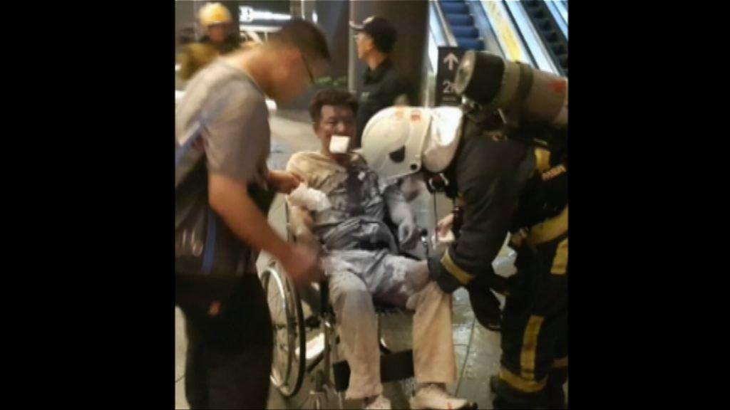 台鐵爆炸案 疑犯目前在加護病房留醫