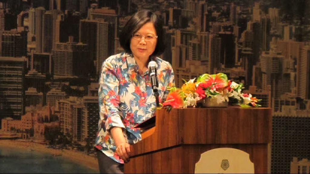 蔡英文形容台灣是美國可靠夥伴