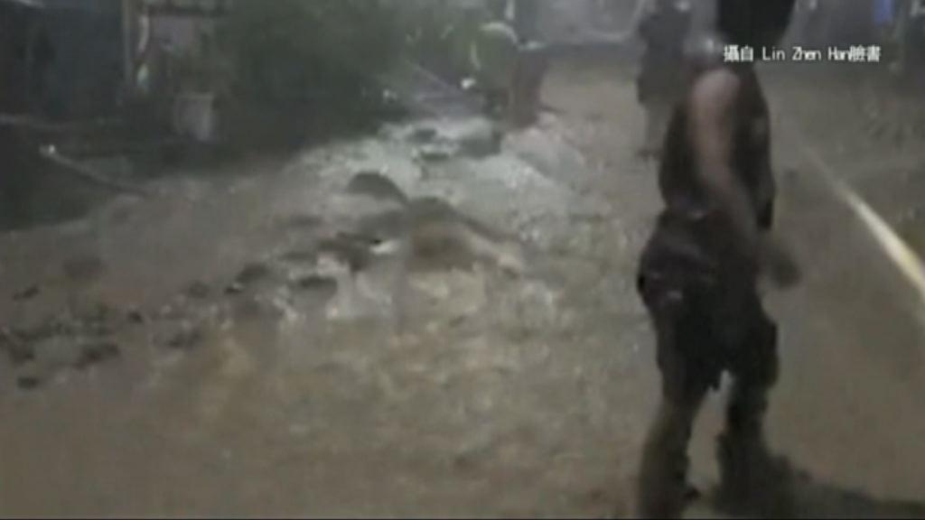 海棠襲台 中南部受災嚴重多處水浸