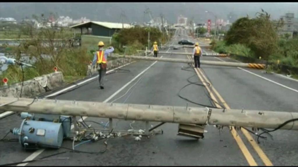 熱帶風暴海棠接力吹襲台灣料多地暴雨