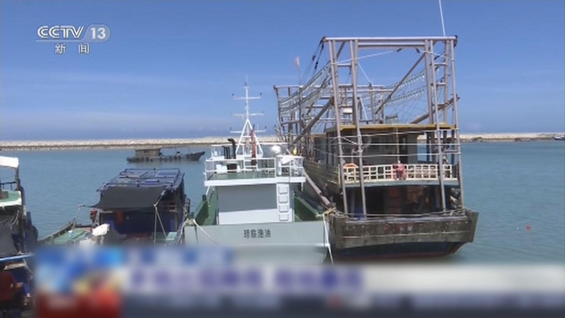 燦都逼近浙江萬艘漁船回港暫避