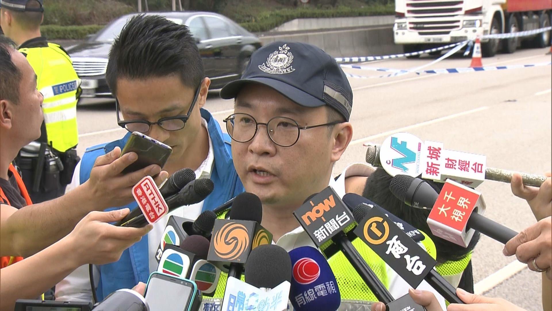 【最新】西九龍兩死車禍 警指城巴未煞車直撞故障貨車
