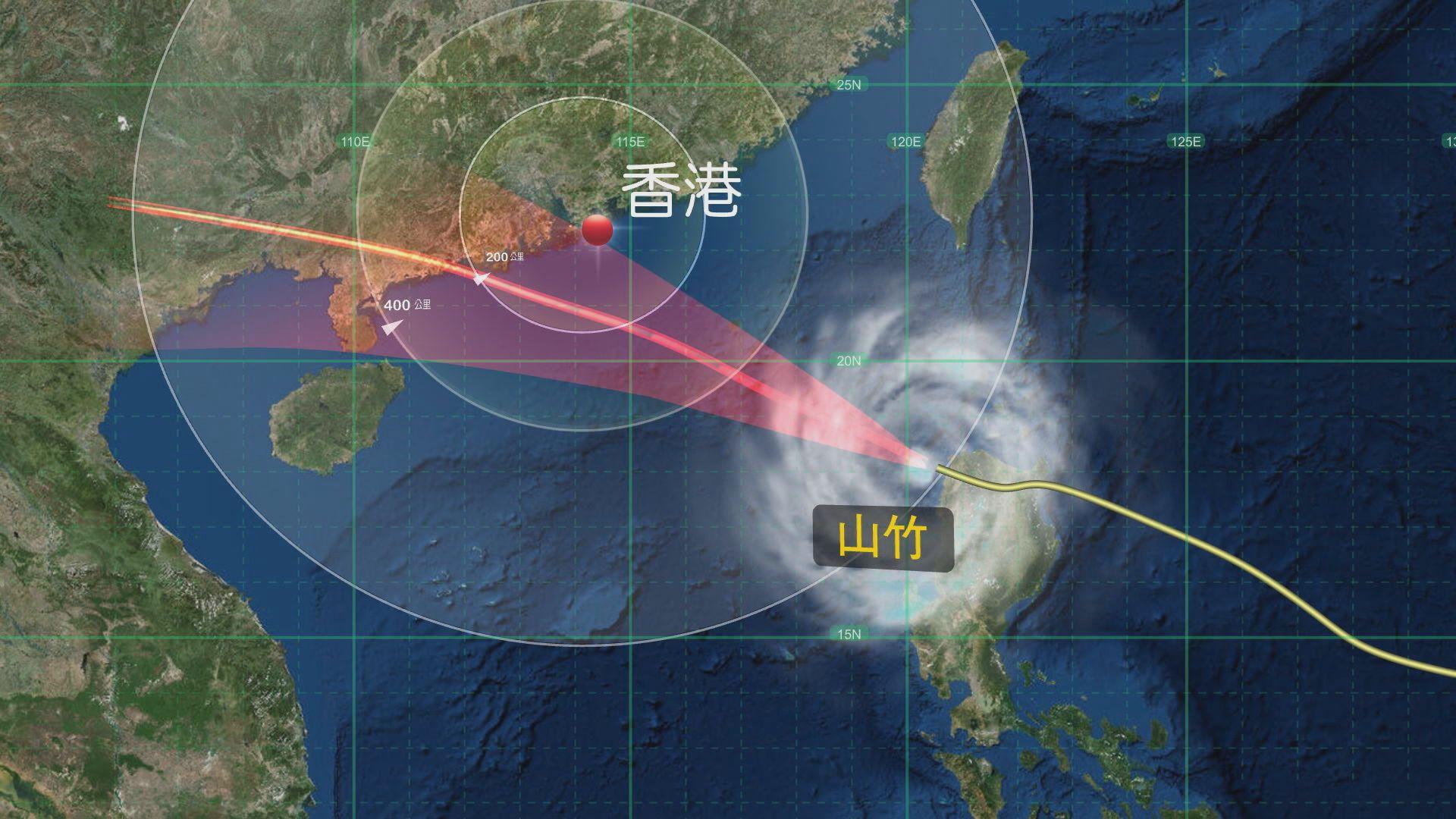 天文台將於下午三至六時改發三號強風信號