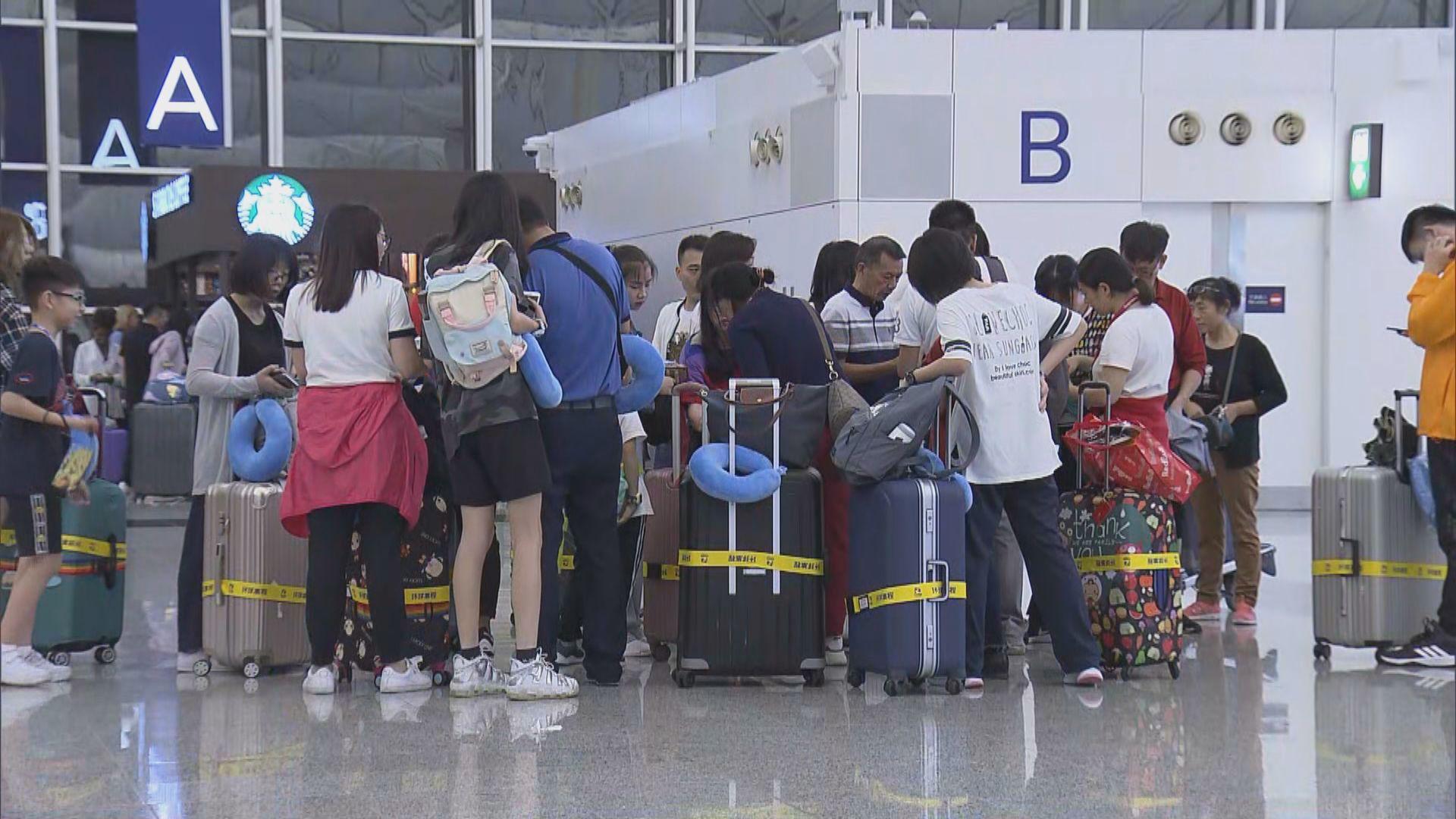 【韋帕襲港】機管局預計逾560班航班延誤