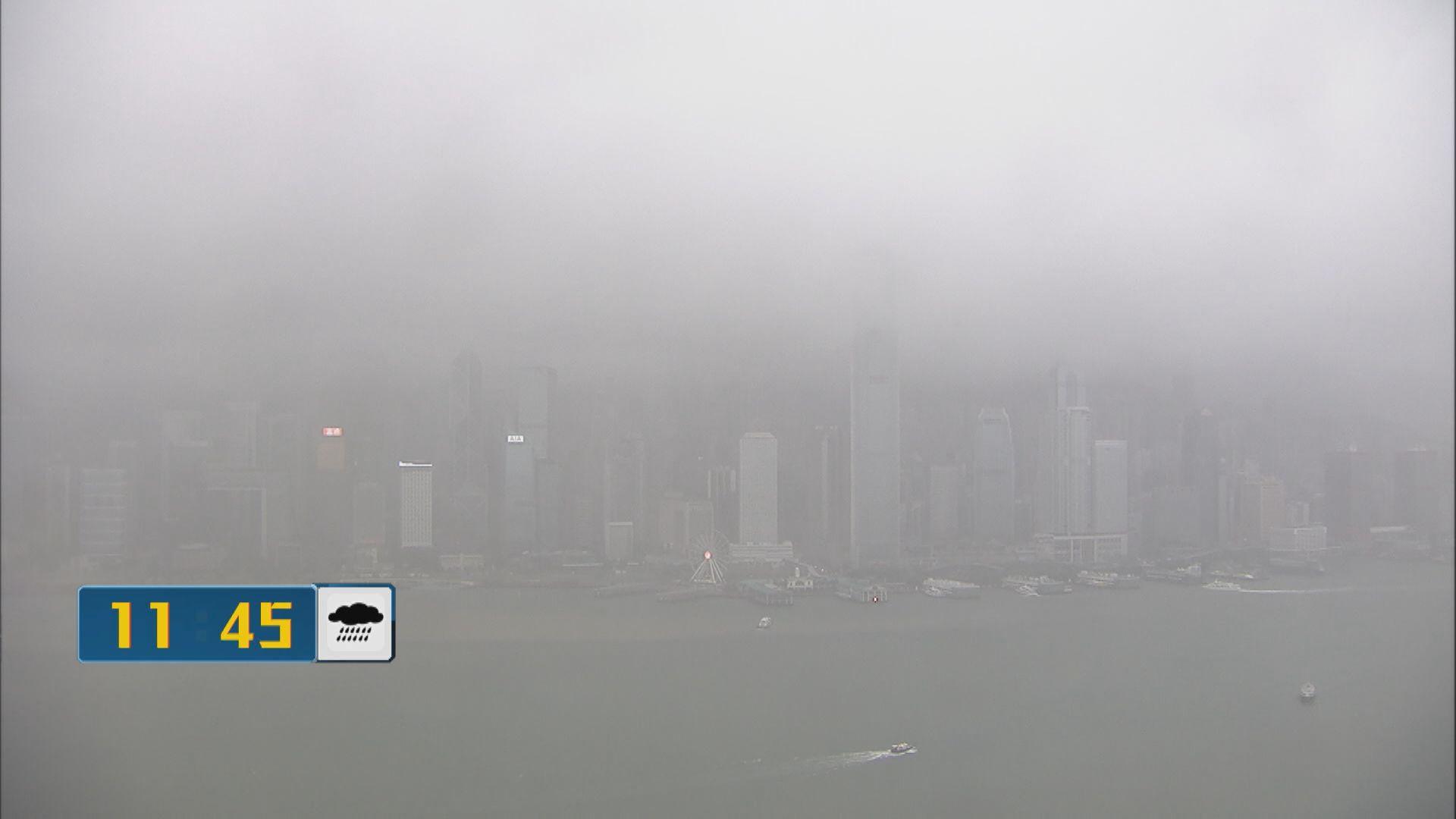 天文台解釋上午未達雨量標準致未有提升暴雨警告級別