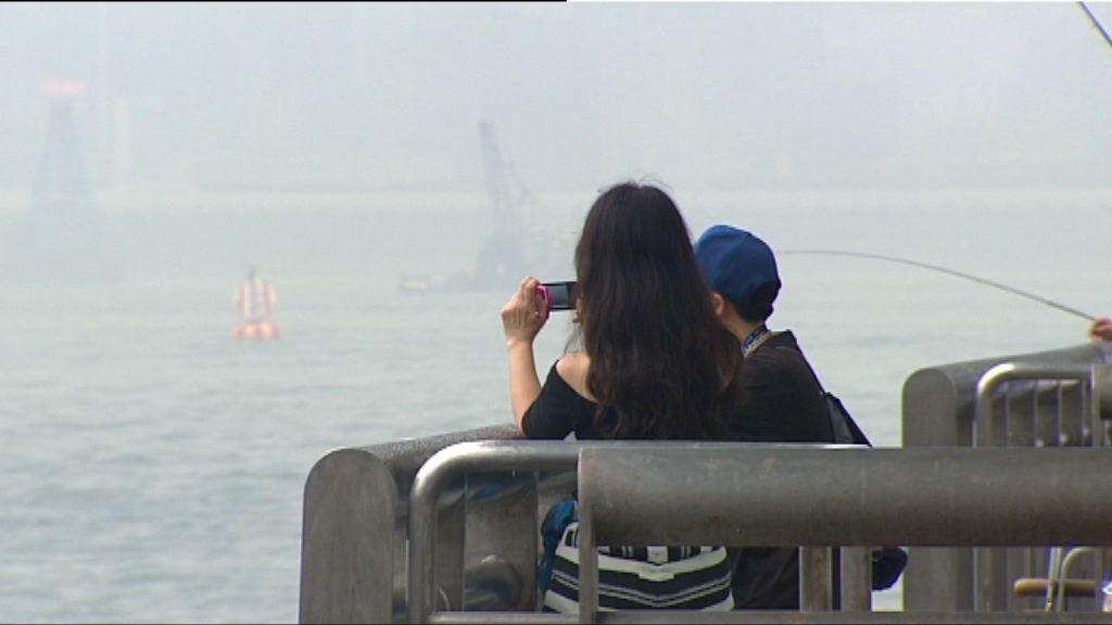 瑪娃下沉氣流影響 本港多區空氣質素轉差