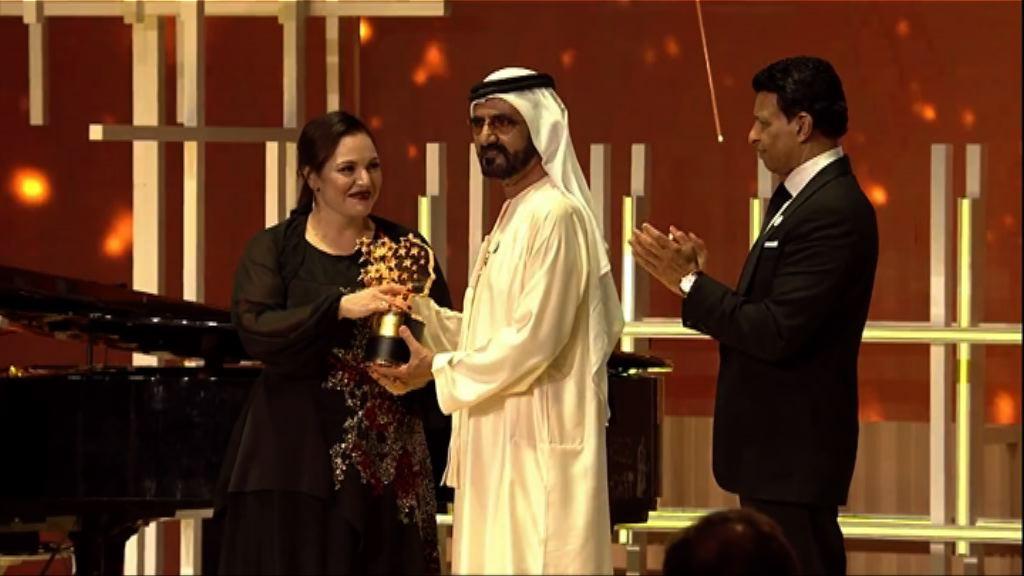 英國中學教師獲頒全球教師獎