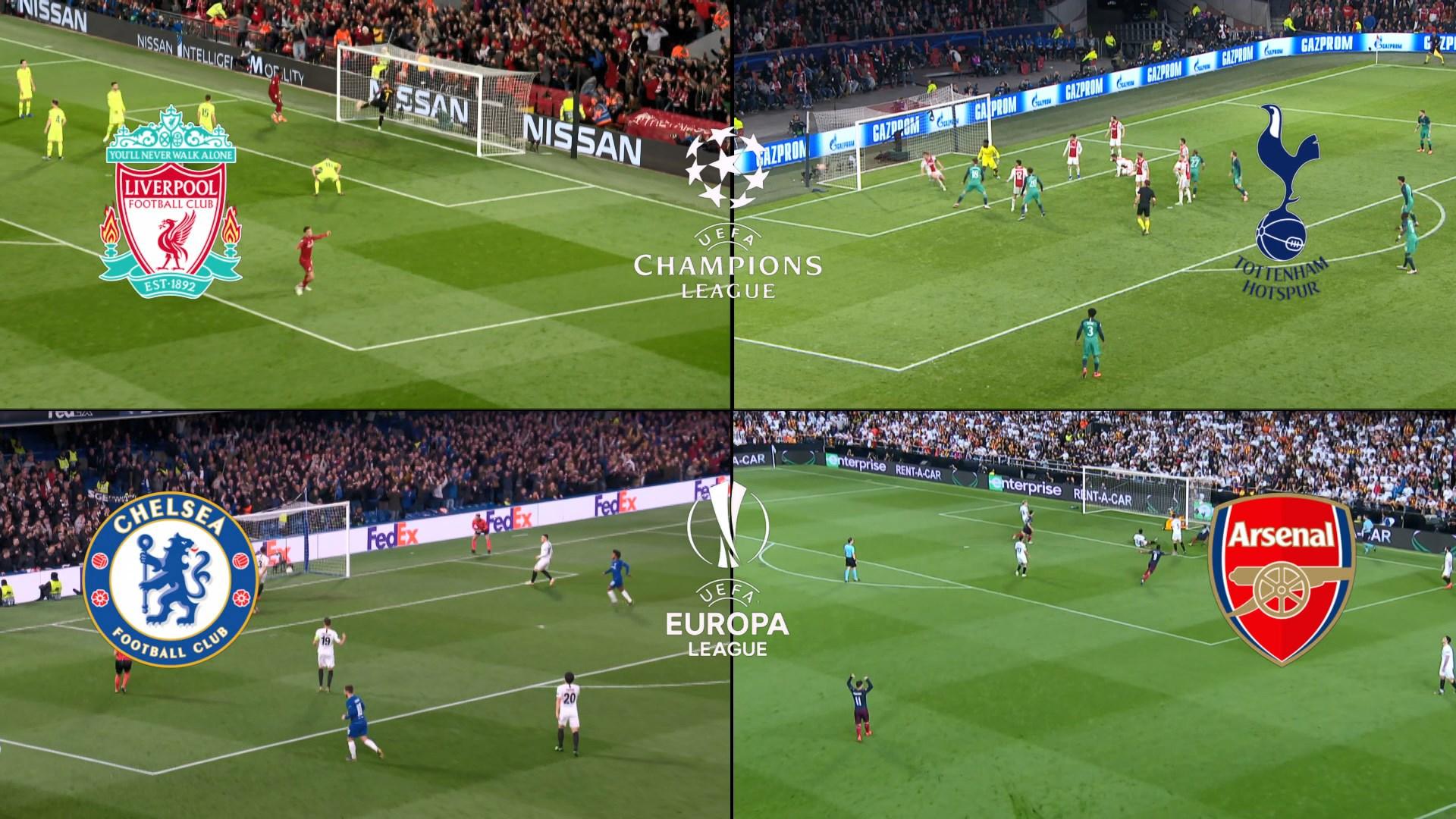 歐聯歐霸決賽席位首次由同地區球會包辦