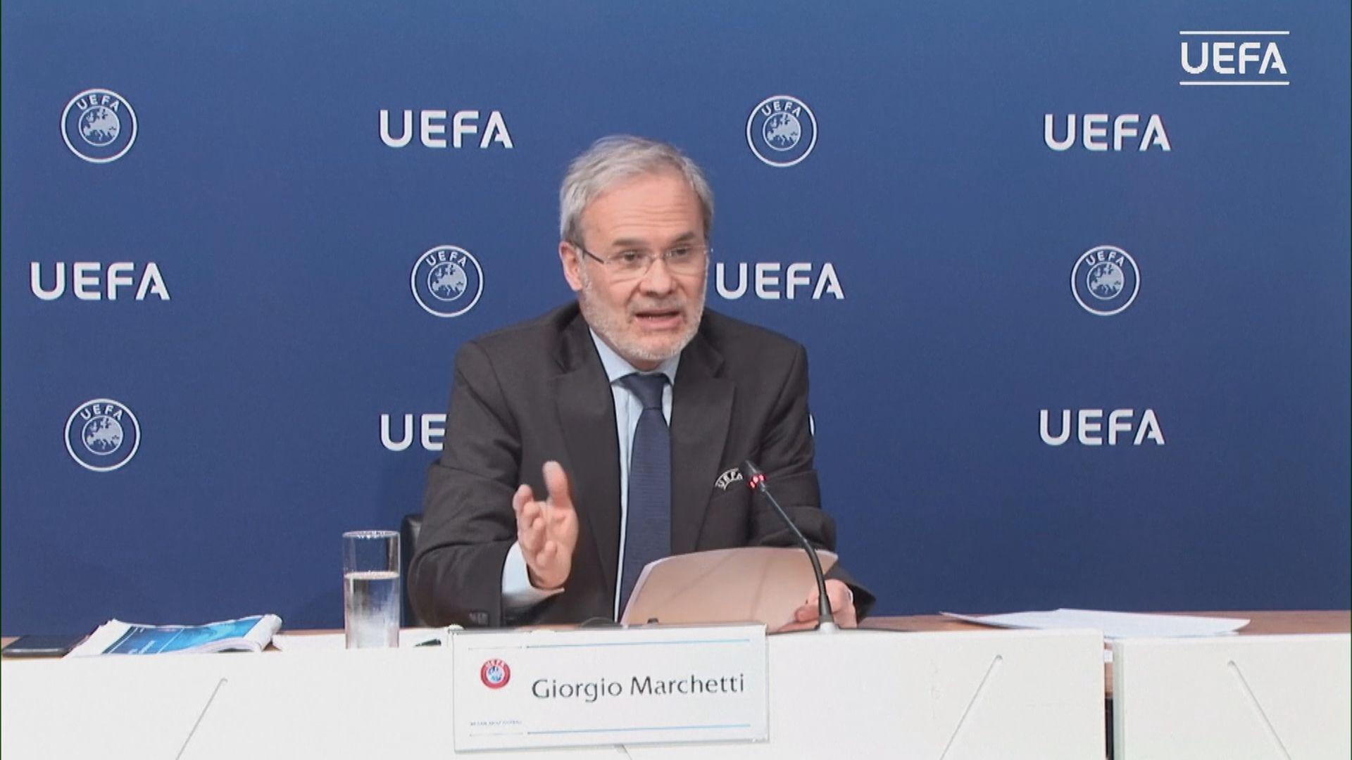 歐聯及歐霸盃八月復賽 比賽料閉門舉行