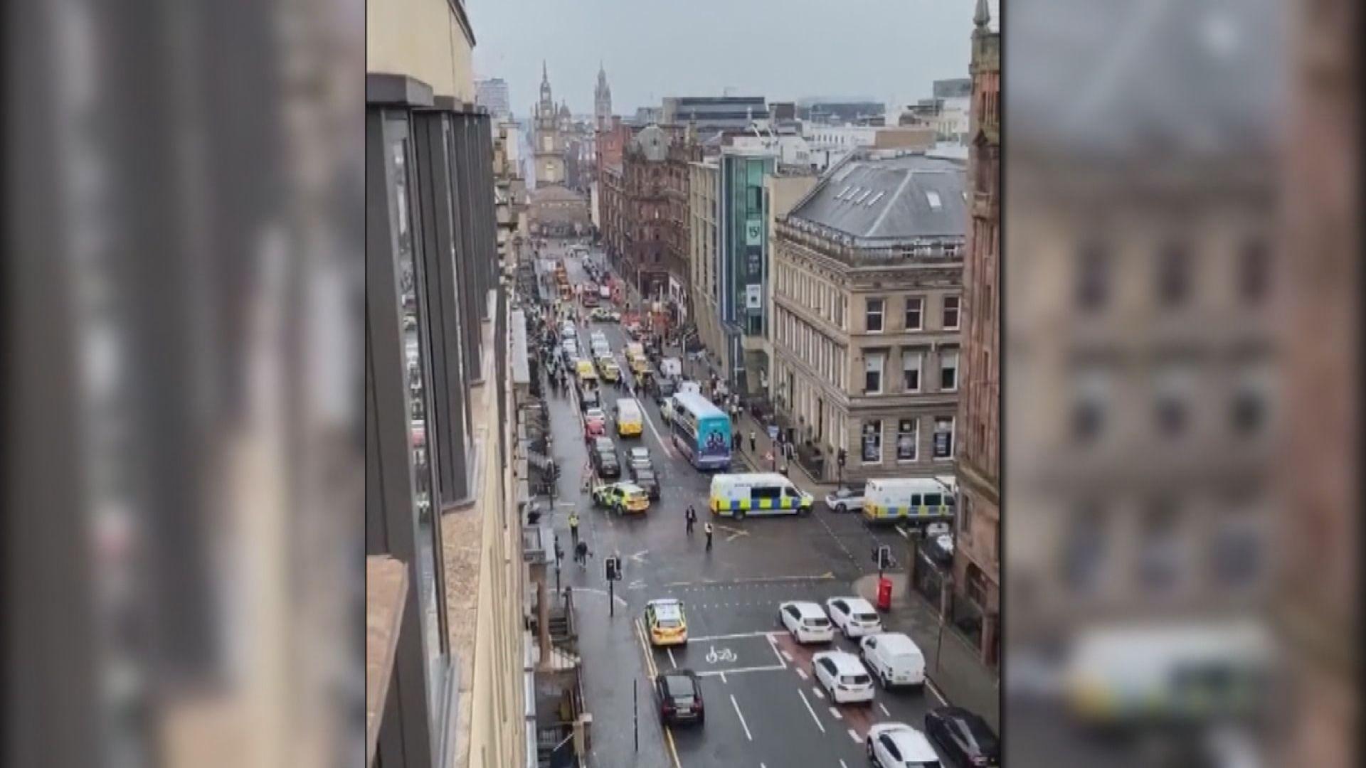 英國格拉斯哥酒店持刀襲擊六傷 疑犯被擊斃