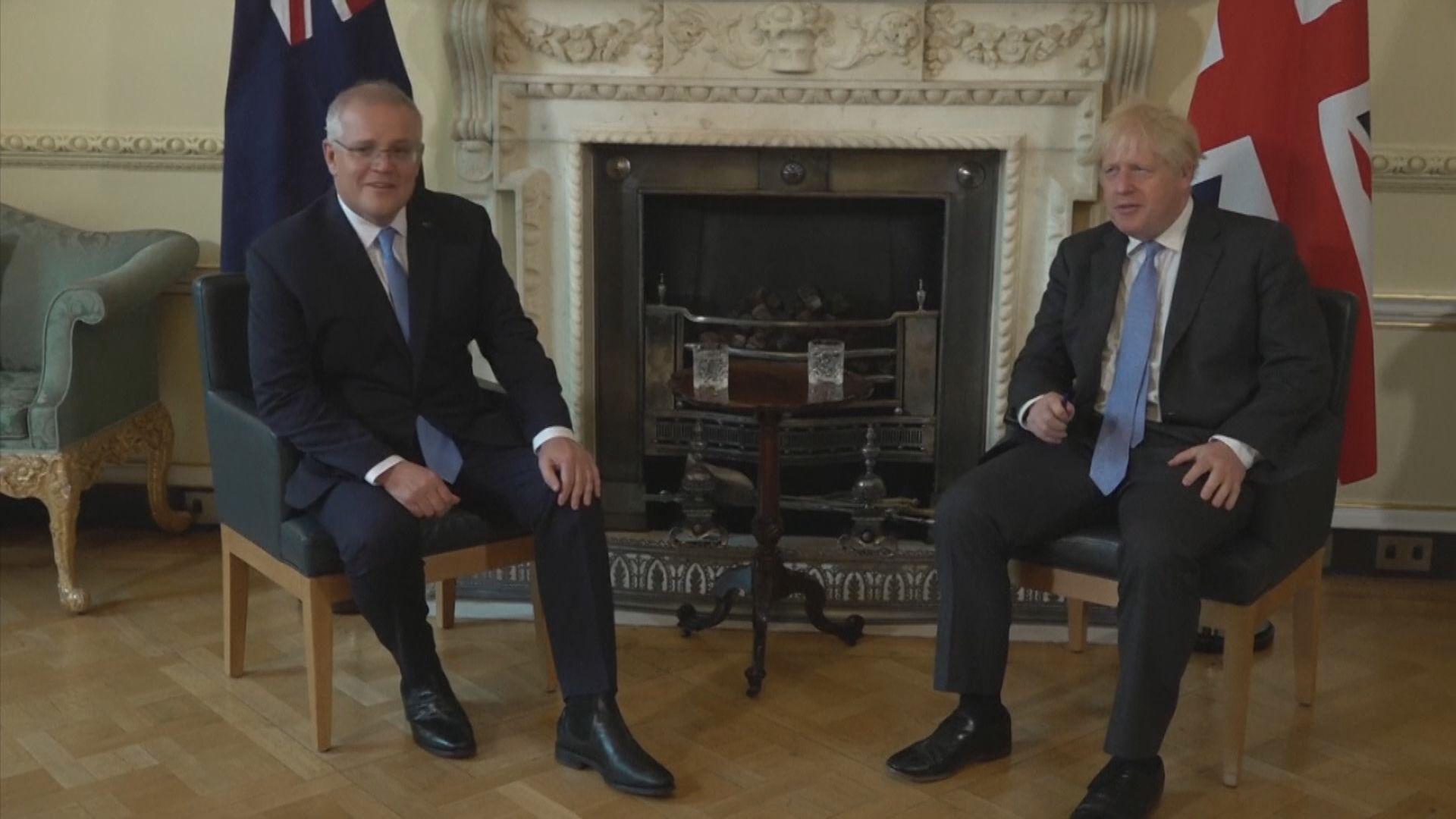 英國與澳洲達成自由貿易協議