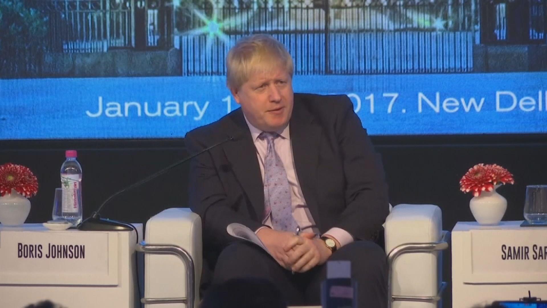 約翰遜稱即使脫歐新方案失敗亦不會辭職