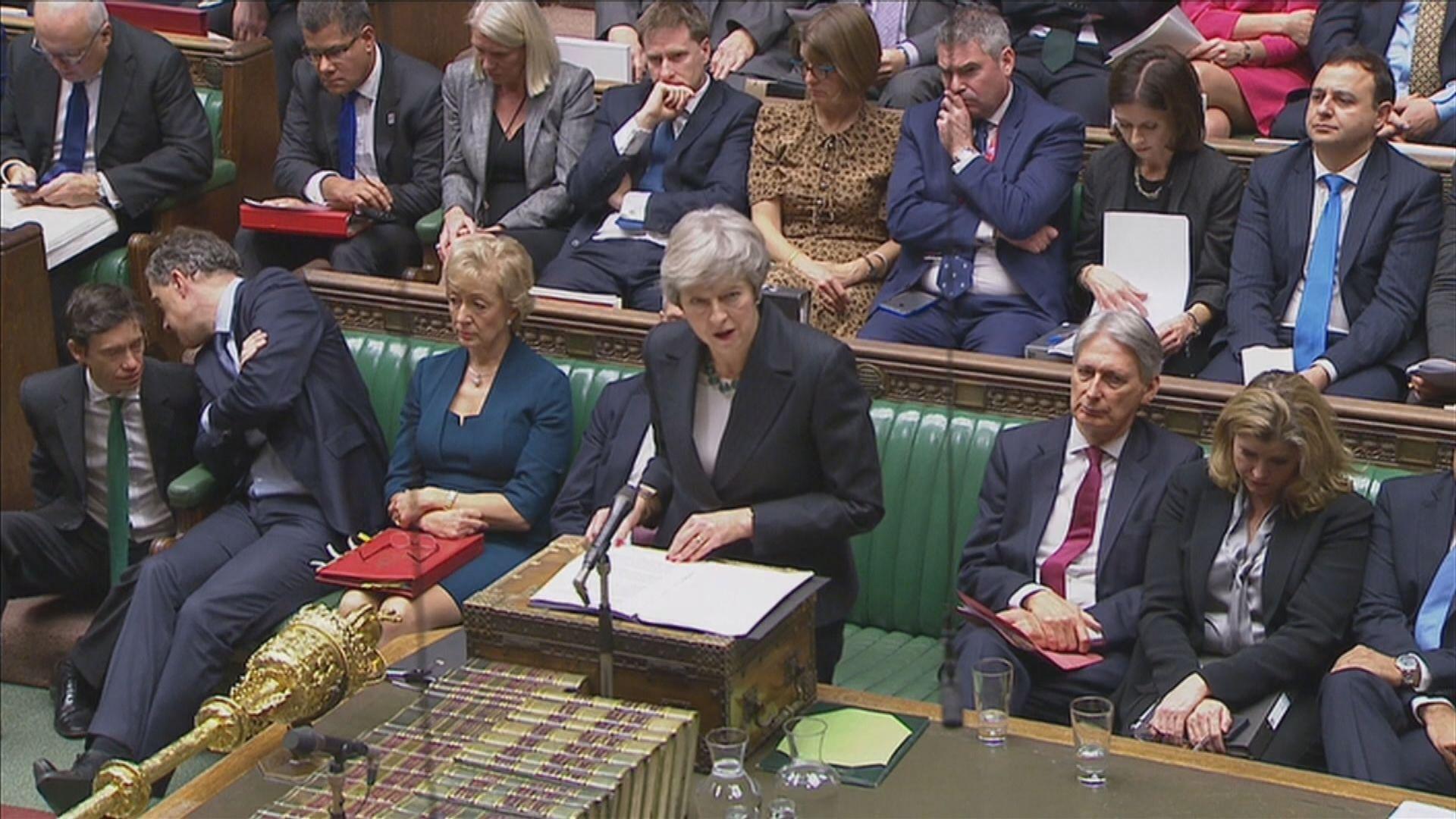 英國多名官員不滿脫歐草案辭職