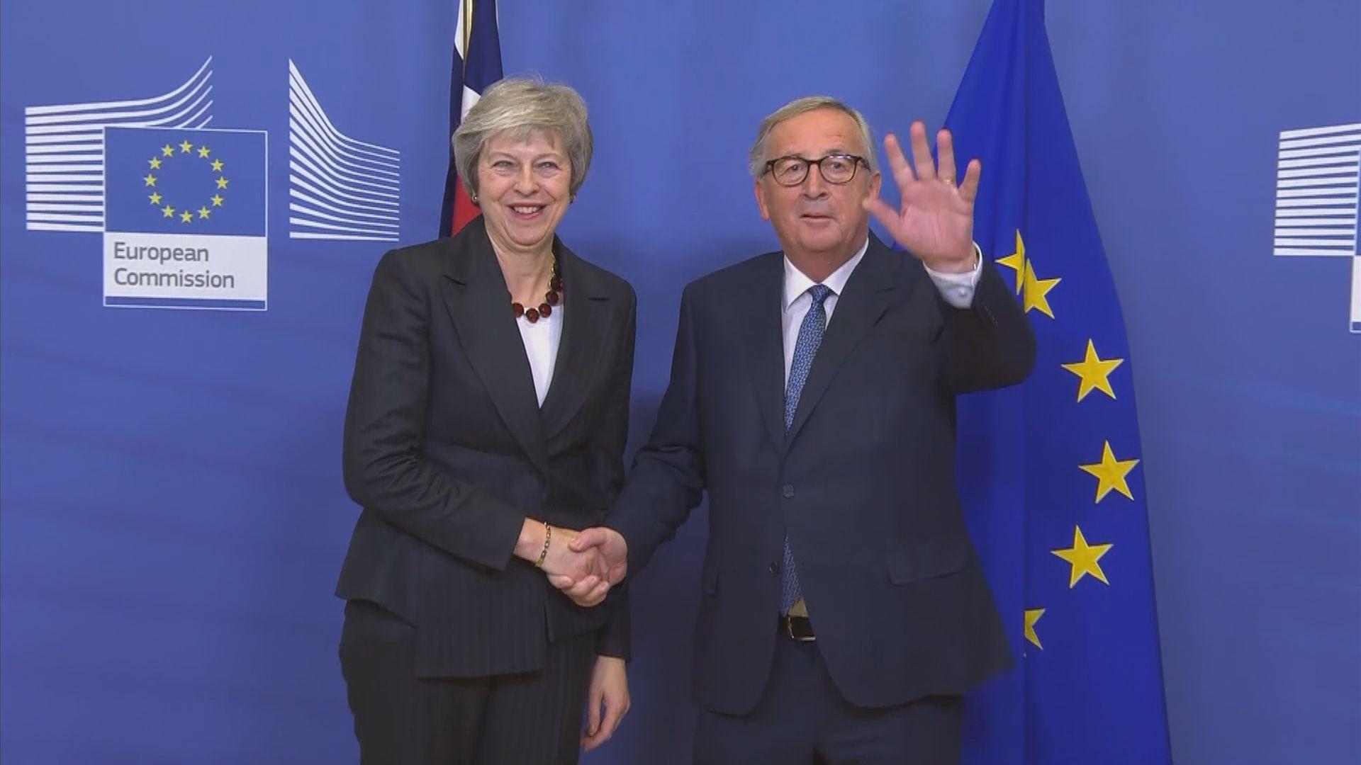 文翠珊與歐盟仍未落實脫歐細節