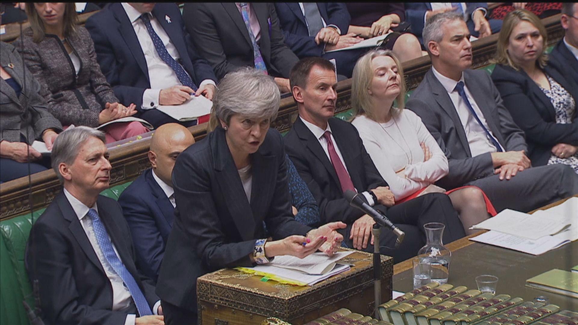 文翠珊指否決脫歐協議將引發硬脫歐