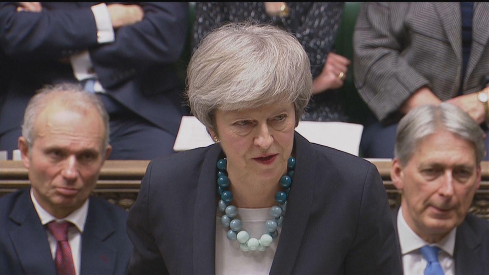 文翠珊押後表決脫歐協議草案受議員猛烈抨擊