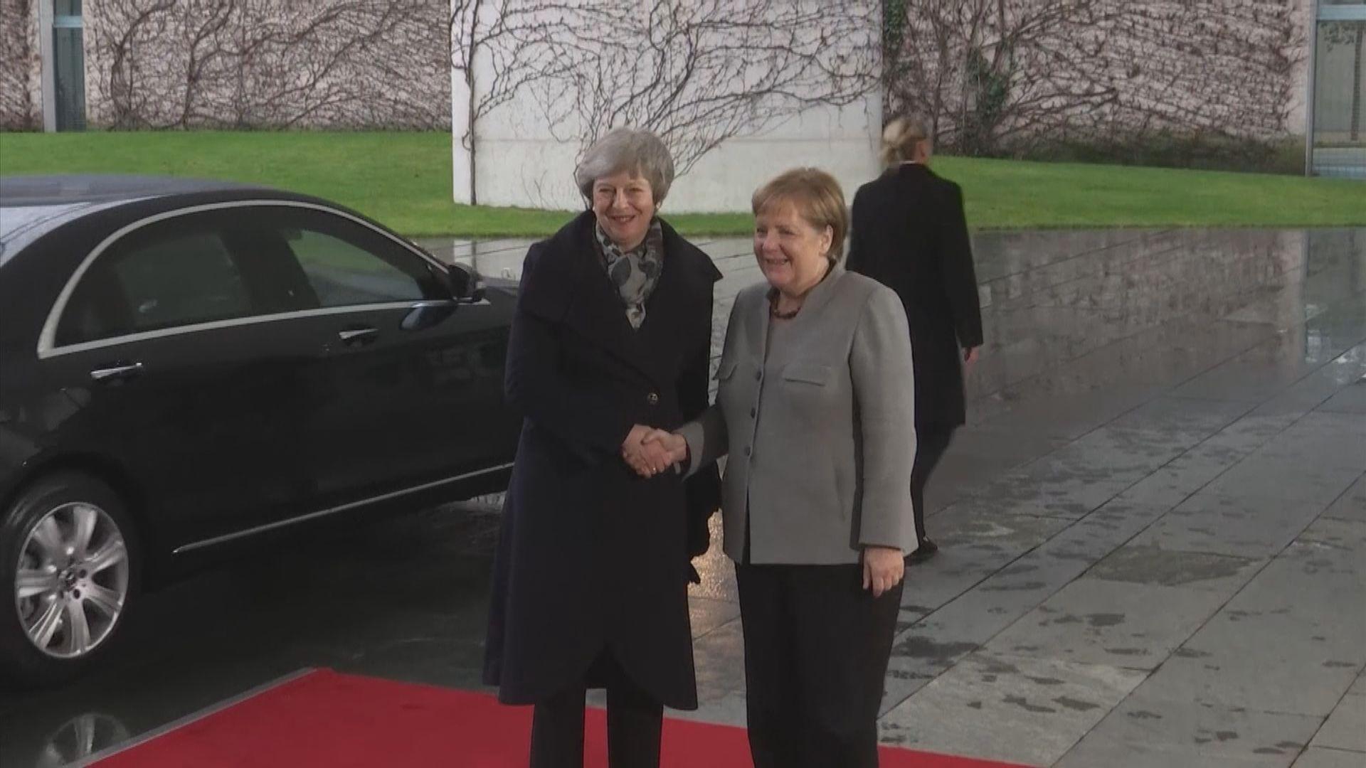 文翠珊到訪荷蘭及德國爭取更佳脫歐協議條款