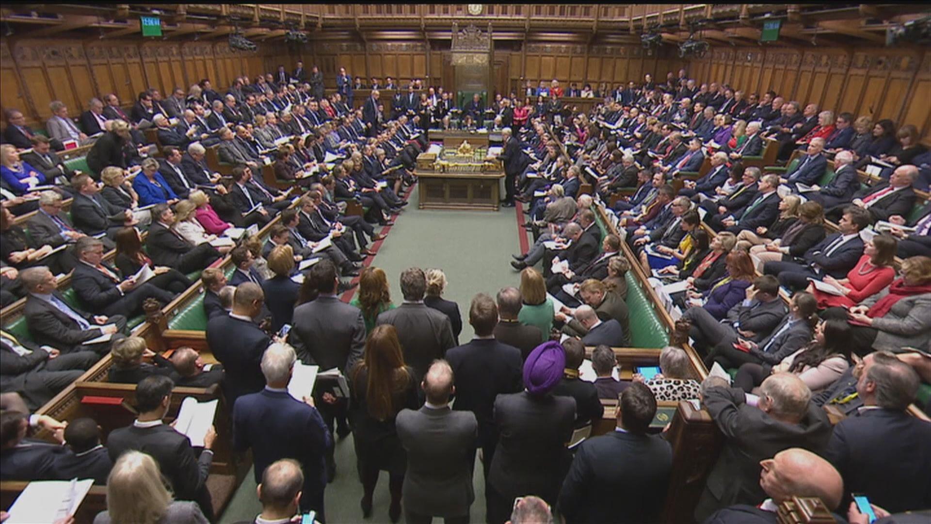 英國會通過若脫歐協議遭否決政府需三日內有新方案