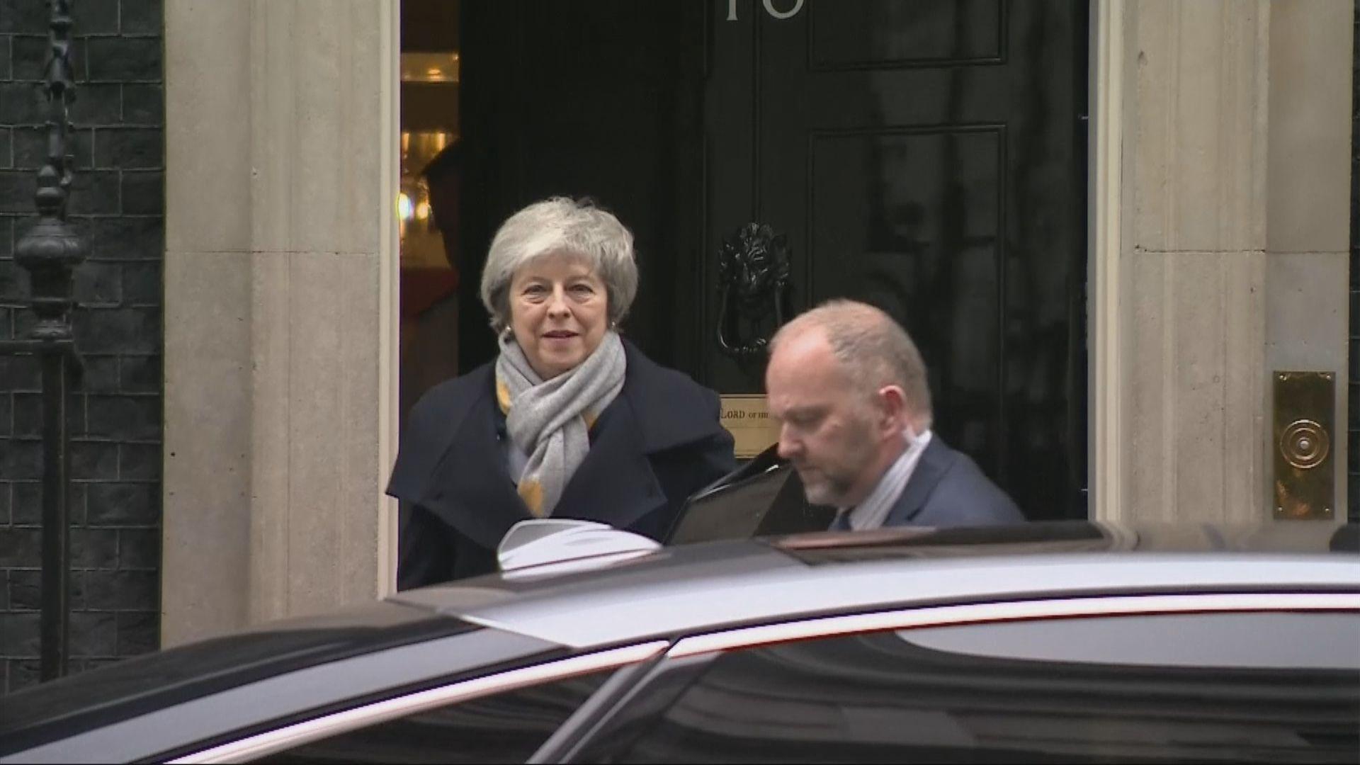 文翠珊重申決心帶領英國脫歐