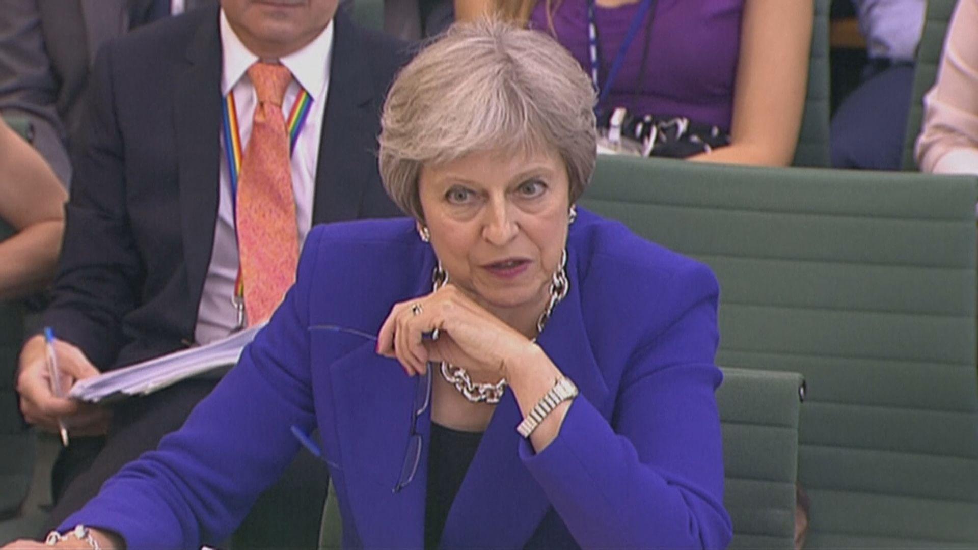 文翠珊仍拒排除無協議脫歐