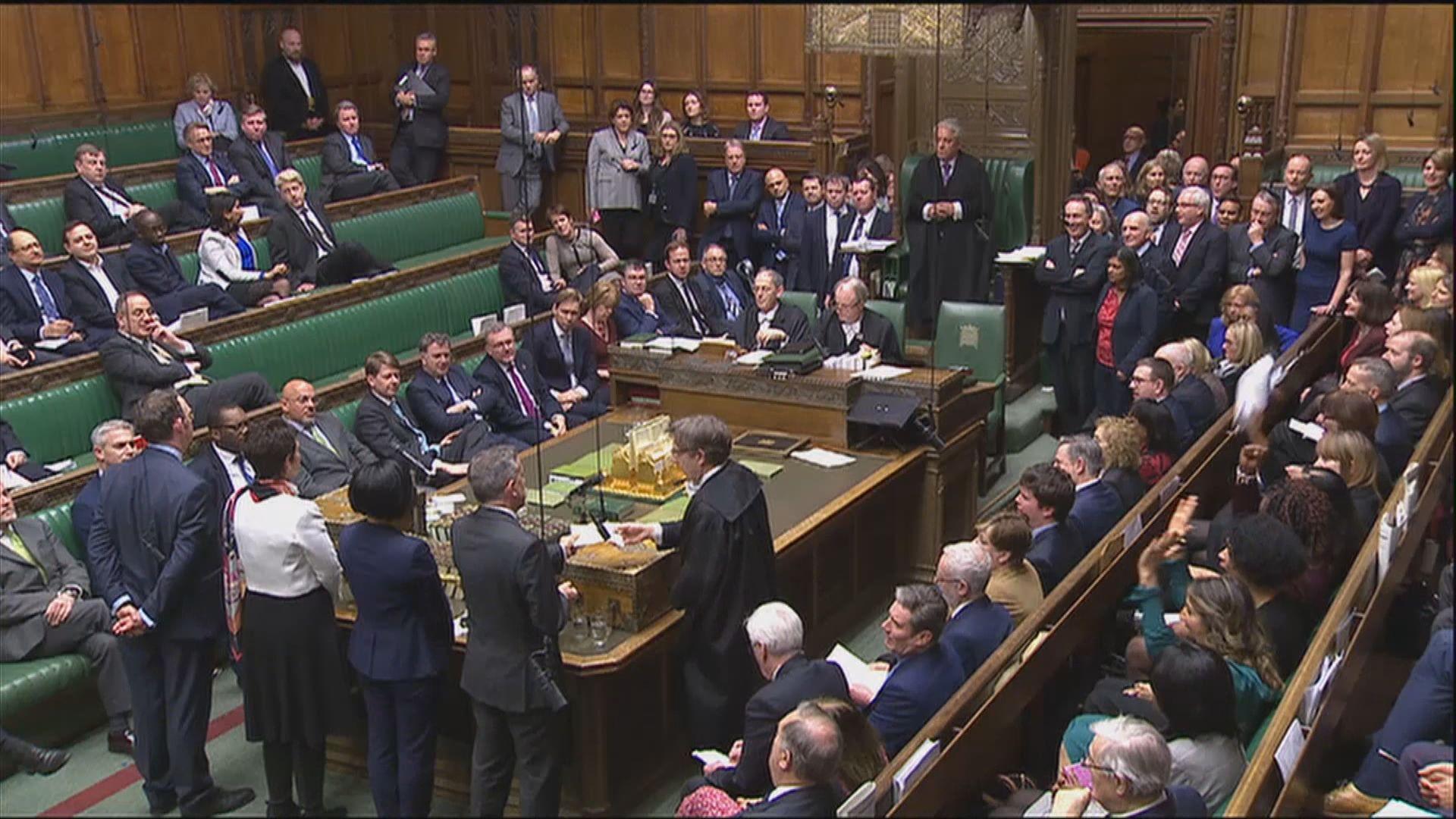 英國下議院否決支持文翠珊脫歐談判策略