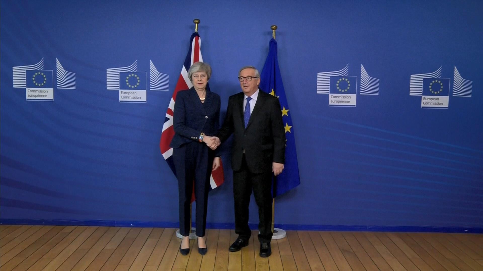文翠珊將晤容克商討脫歐問題