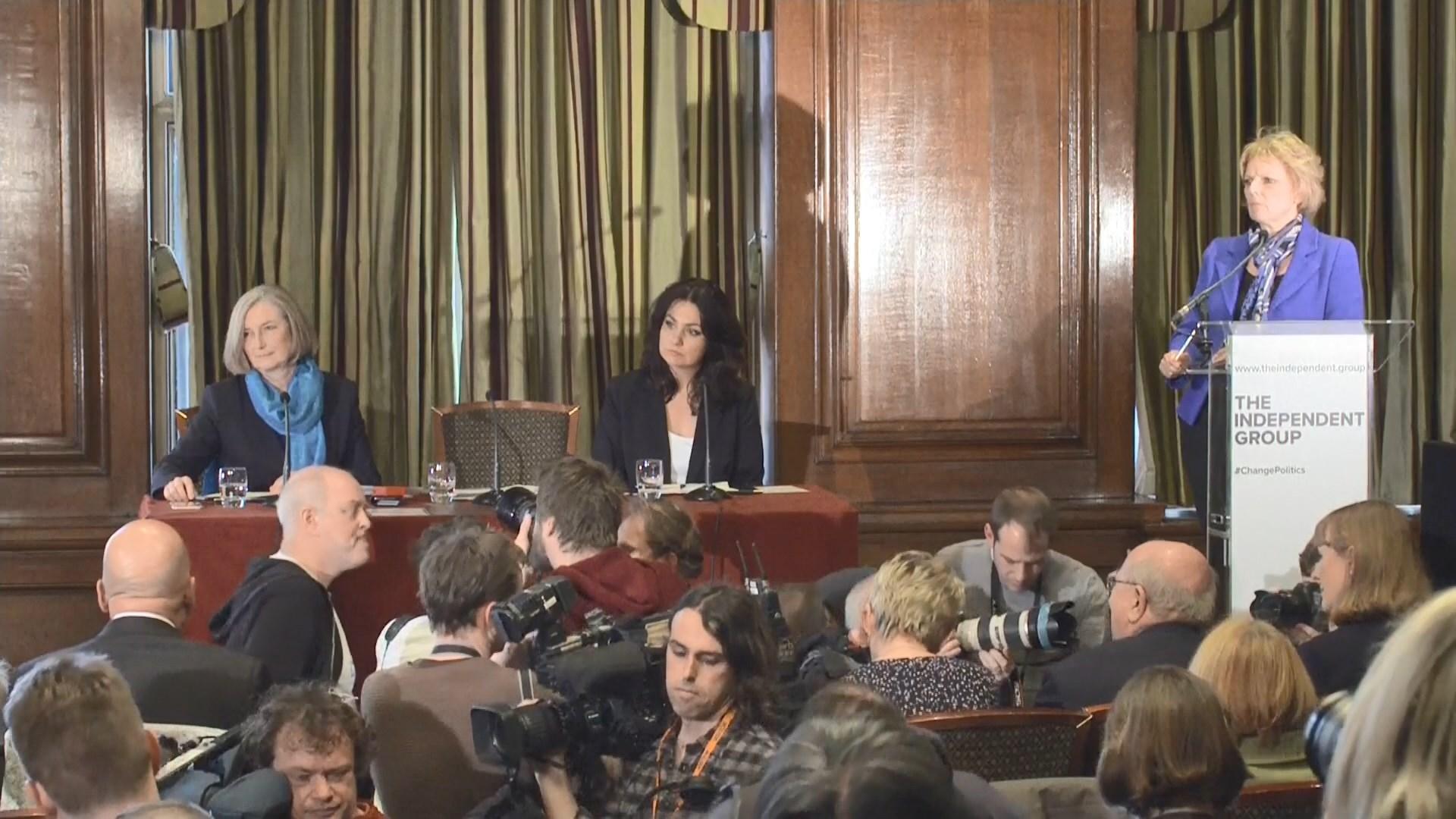 英國保守黨三名議員不滿文翠珊處理脫歐手法退黨