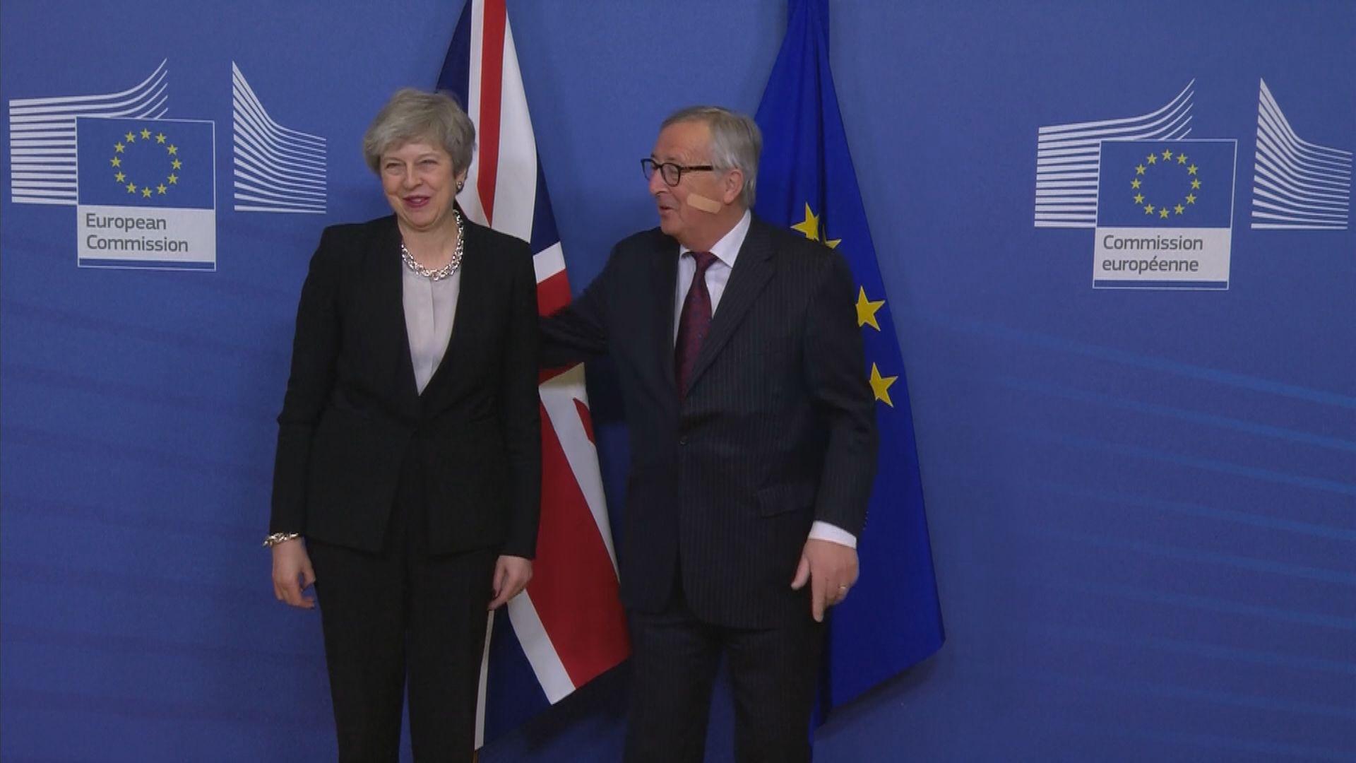 文翠珊與歐盟討論北愛邊境未有突破