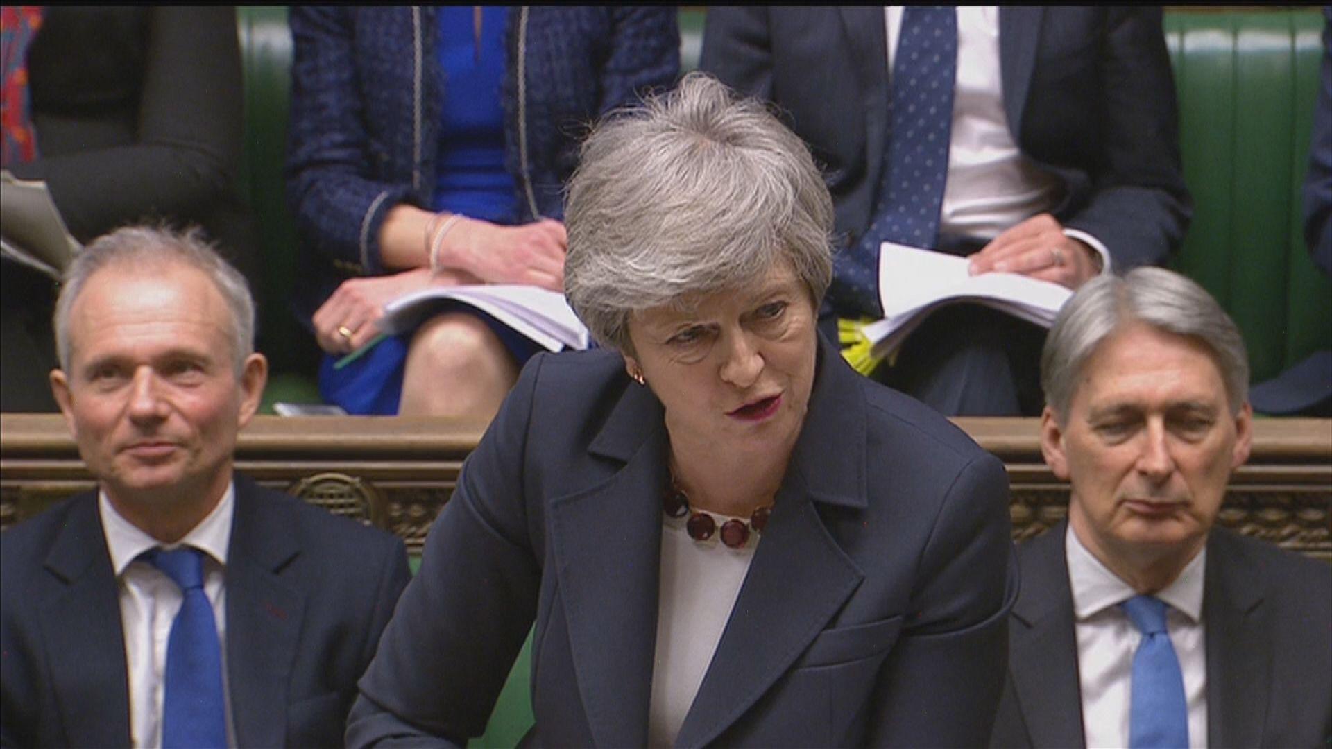 文翠珊承諾脫歐協議獲通過將下台