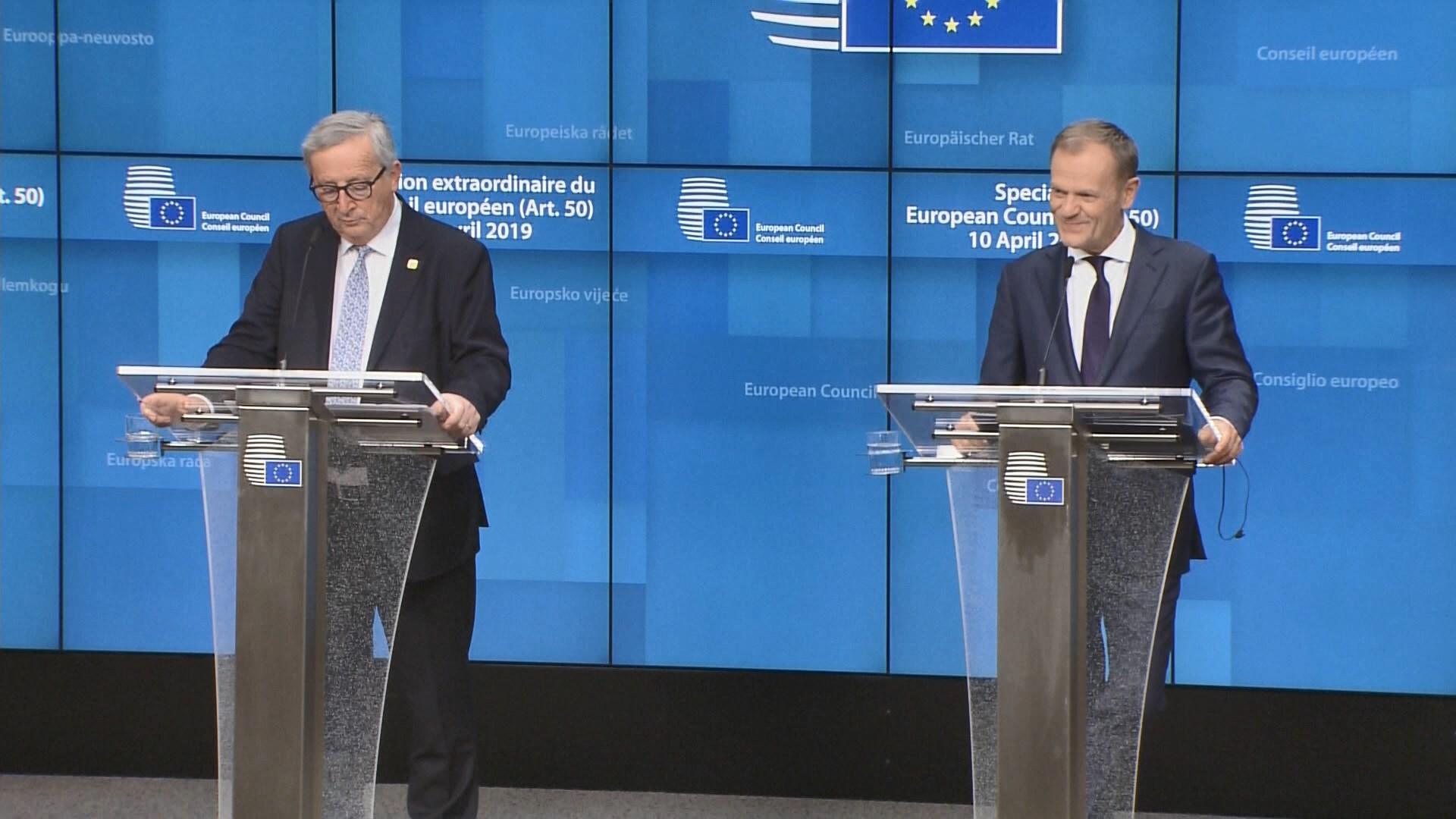 英脫歐限期延至十月底 歐盟六月再開會檢討