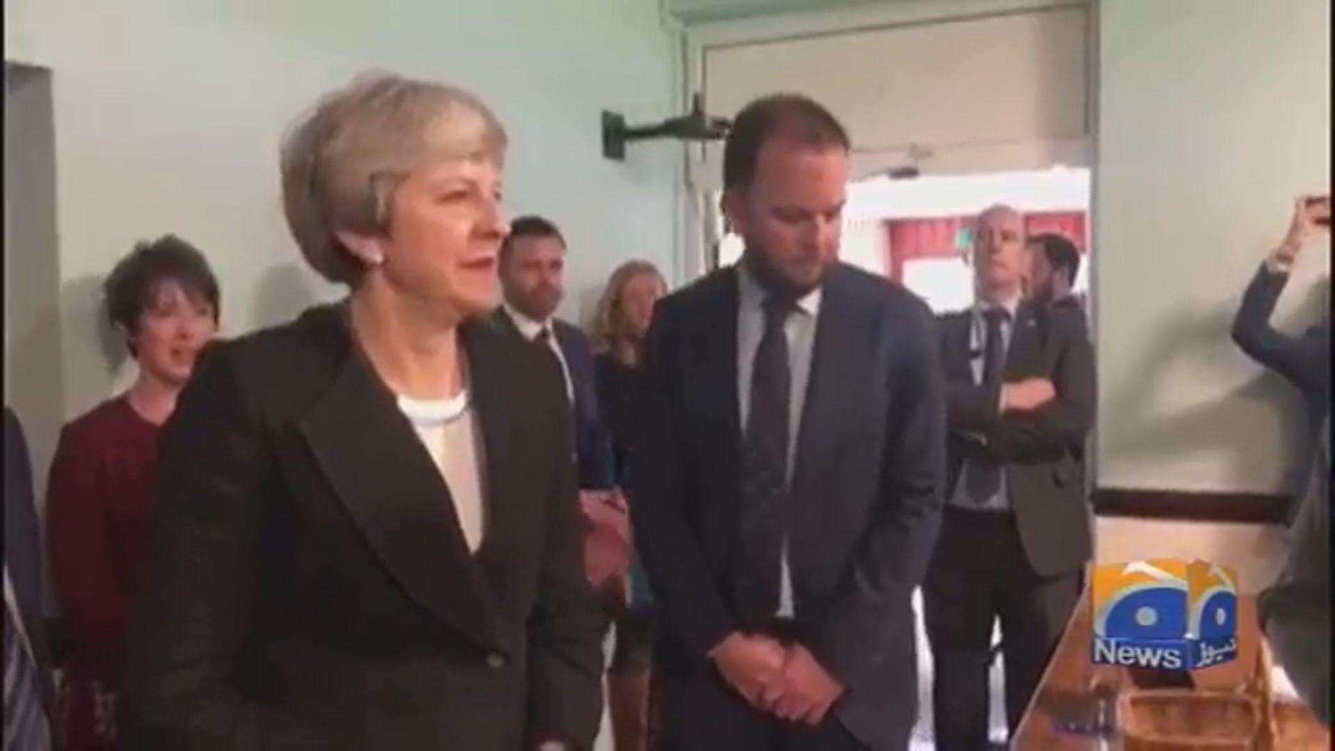 文翠珊呼籲工黨黨魁郝爾彬達成脫歐協議