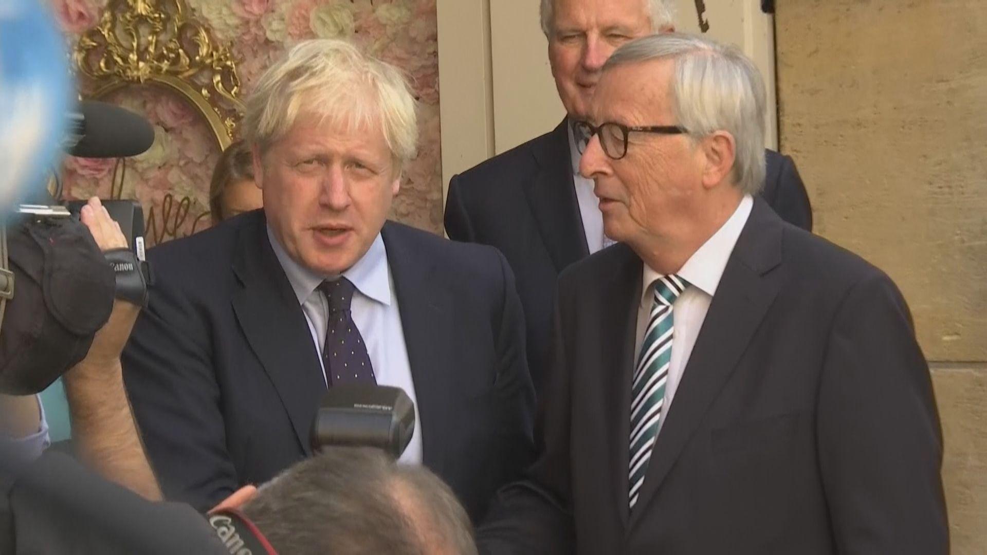 約翰遜與歐委會主席商討化解脫歐僵局