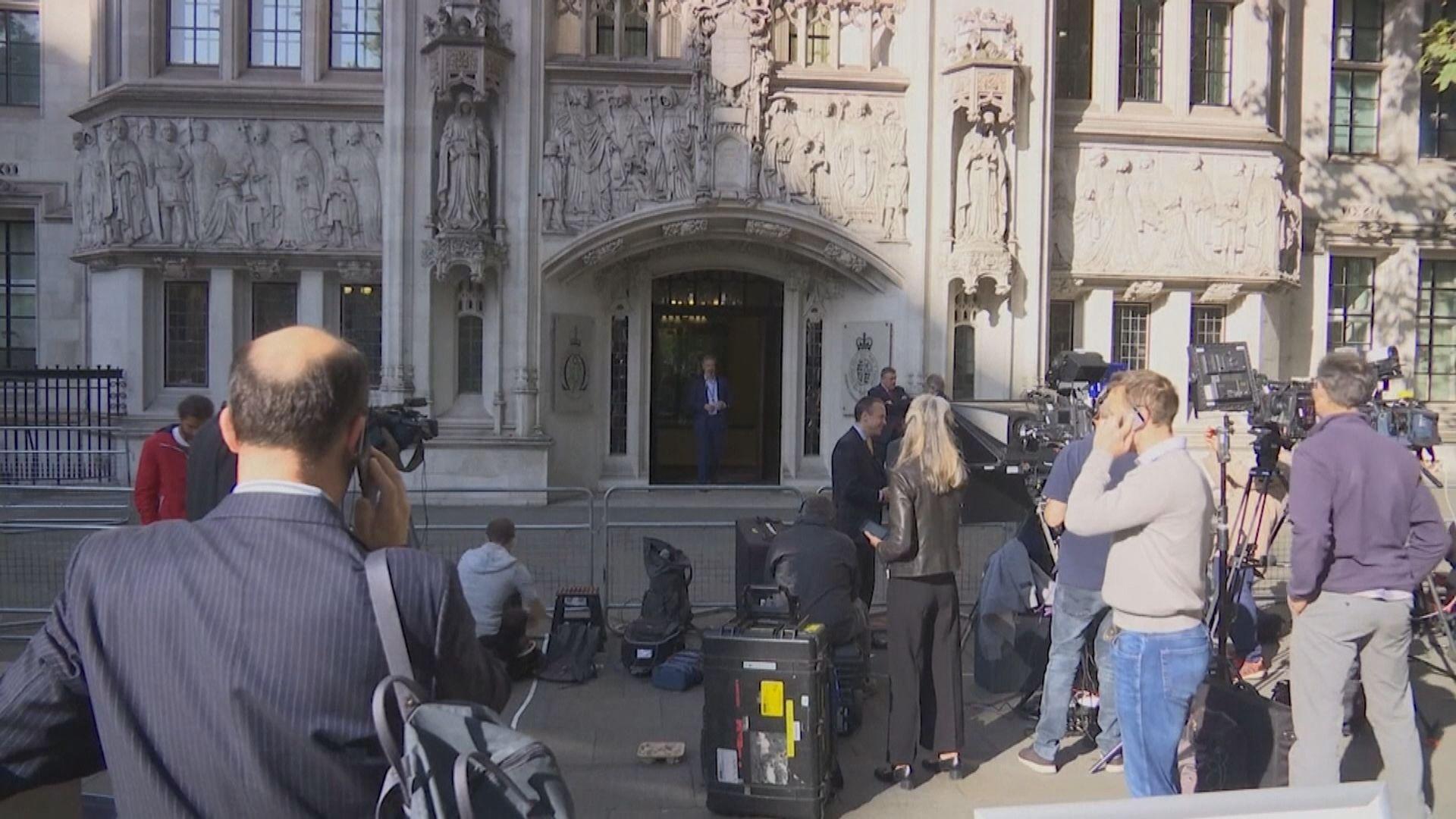 英最高法院審理首相要求國會休會合法性