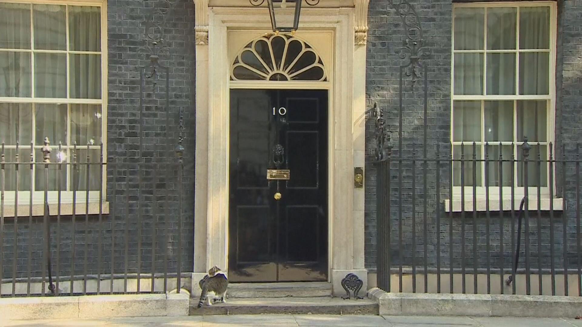 首相府表示英國月底如期脫歐