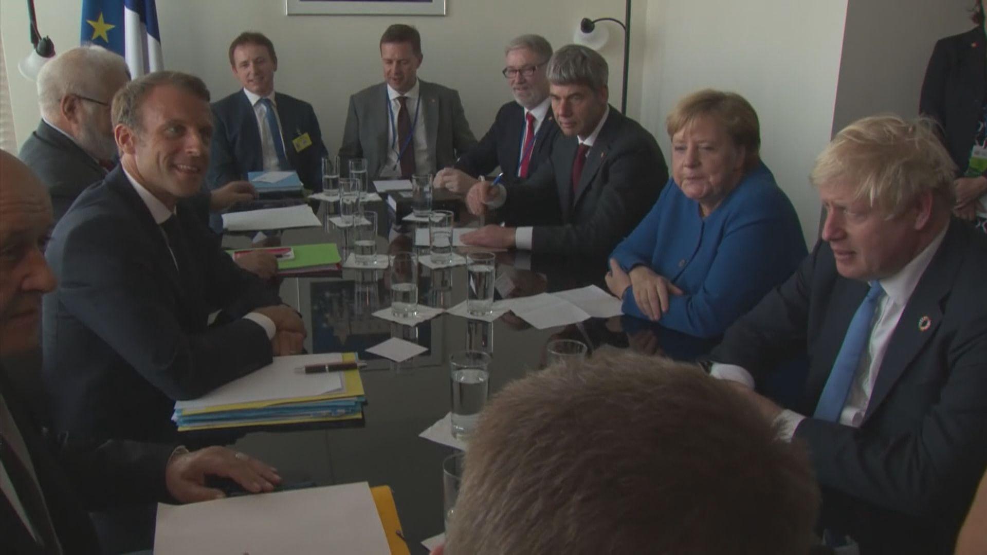 約翰遜據報將促請歐盟本周達成協議