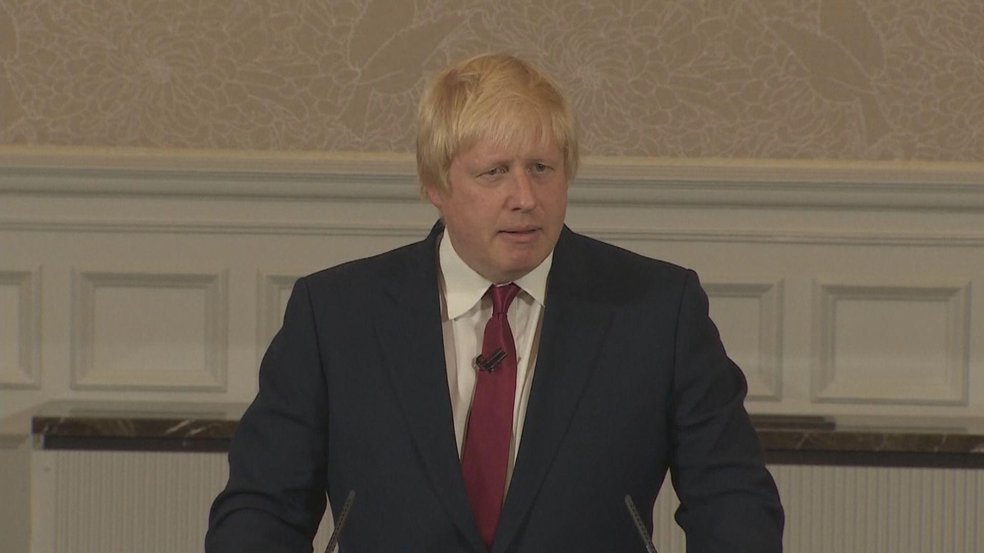 約翰遜去信歐盟尋求延期脫歐