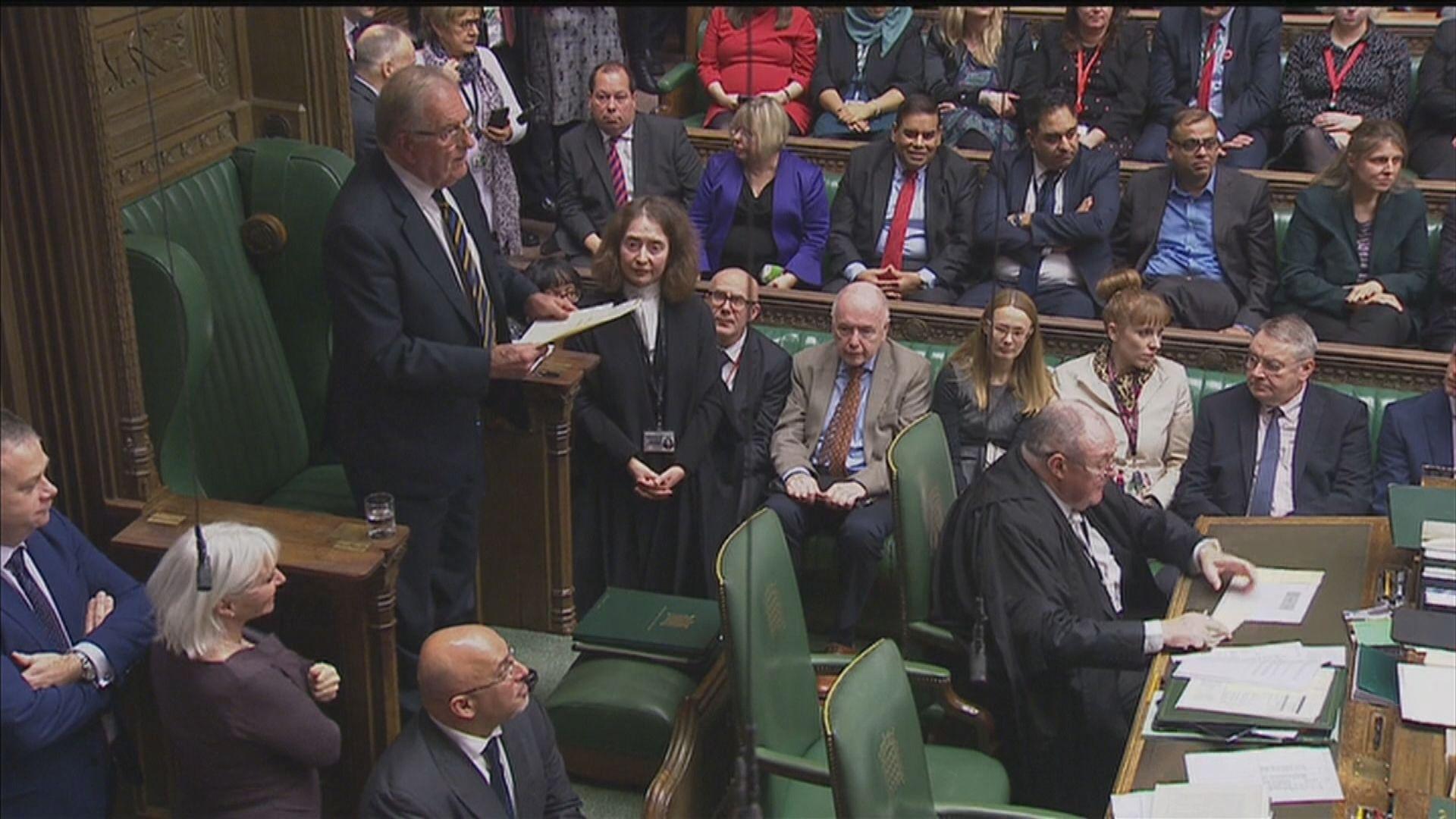 英脫歐協議修正法案下議院通過二讀