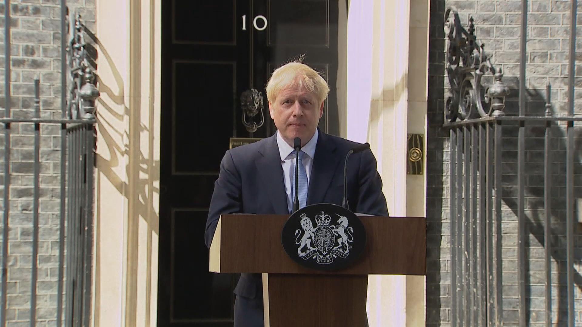 約翰遜建立強硬脫歐派內閣 前朝閣員逾半被撤換
