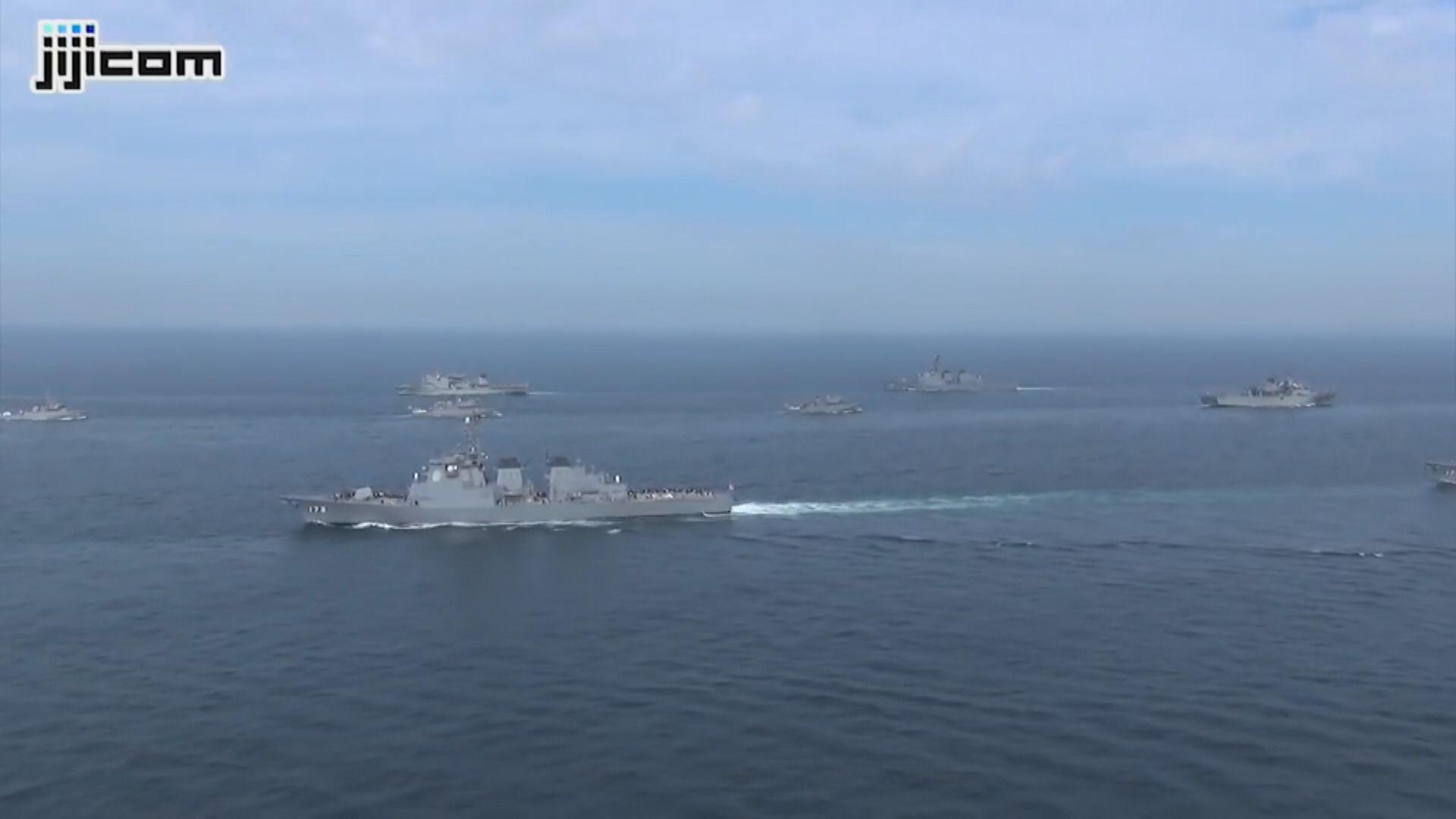 據報駐日美軍將向伊利沙白女王號提供支援