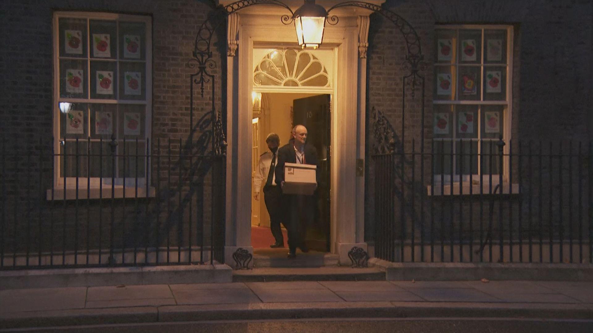 英揆首席顧問甘明斯離職 分析指約翰遜可趁機重振地位