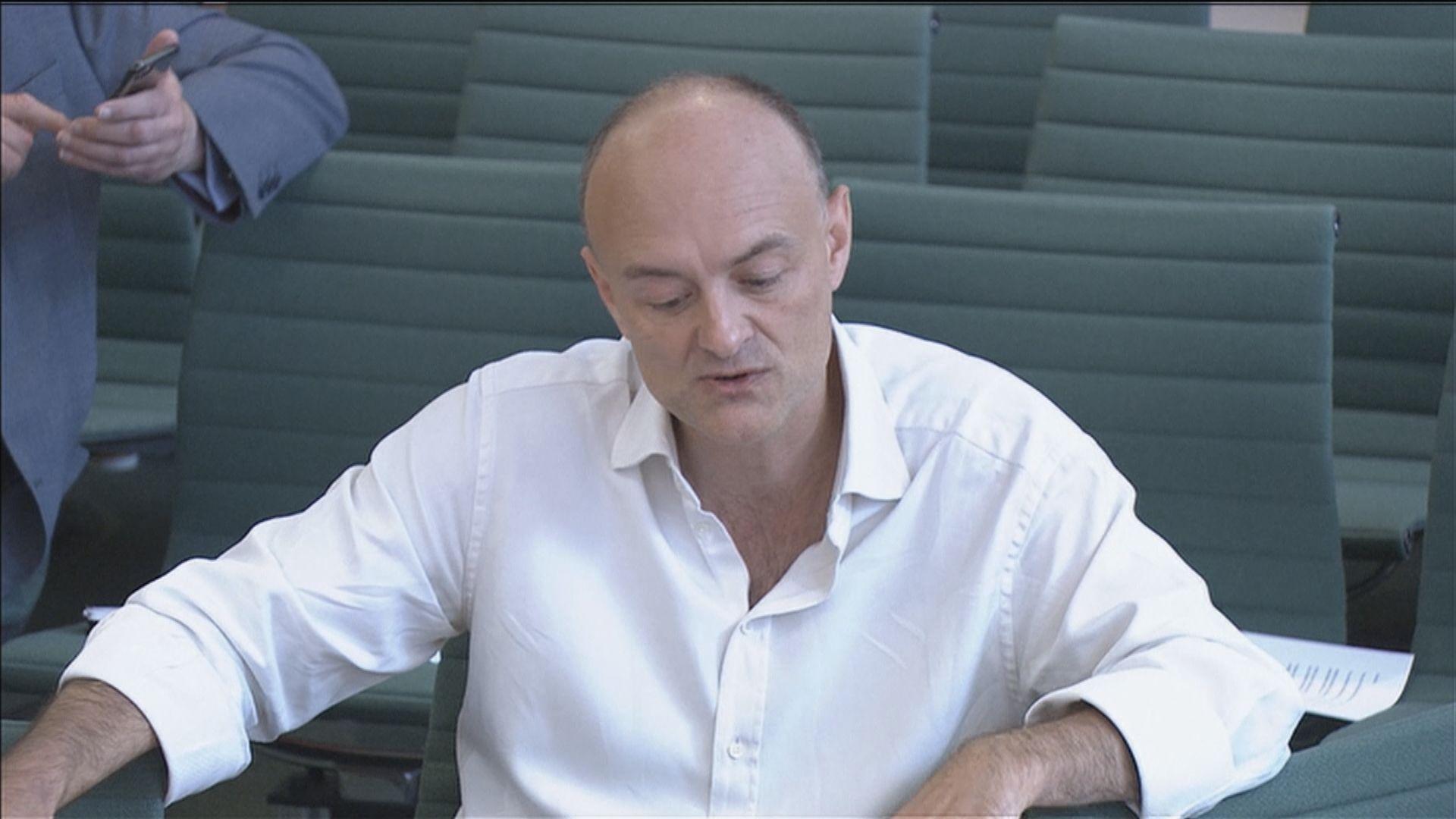 英揆前首席顧問批評約翰遜低估疫情 不配出任首相