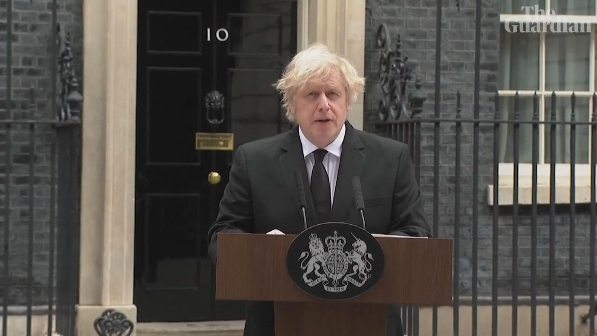 菲臘親王離世 首相約翰遜致哀
