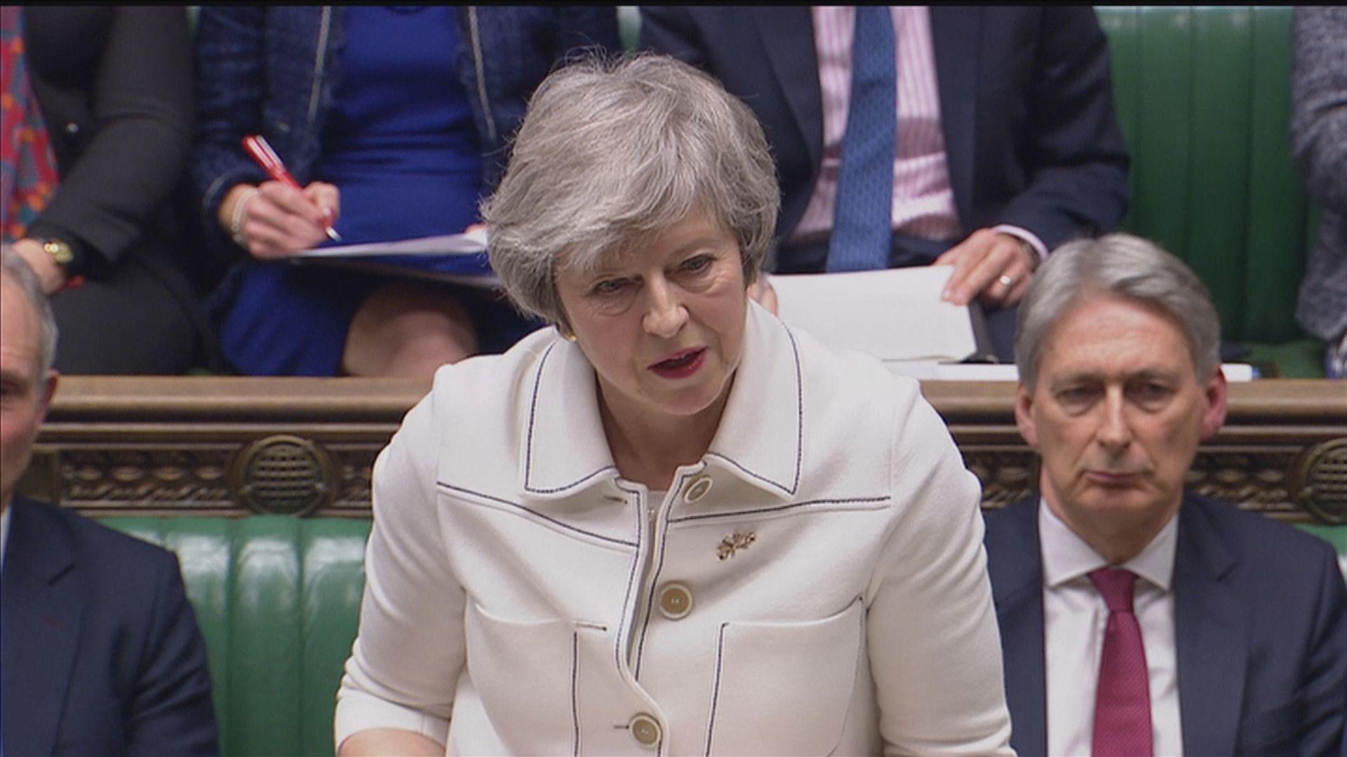 文翠珊再游說國會支持脫歐協議