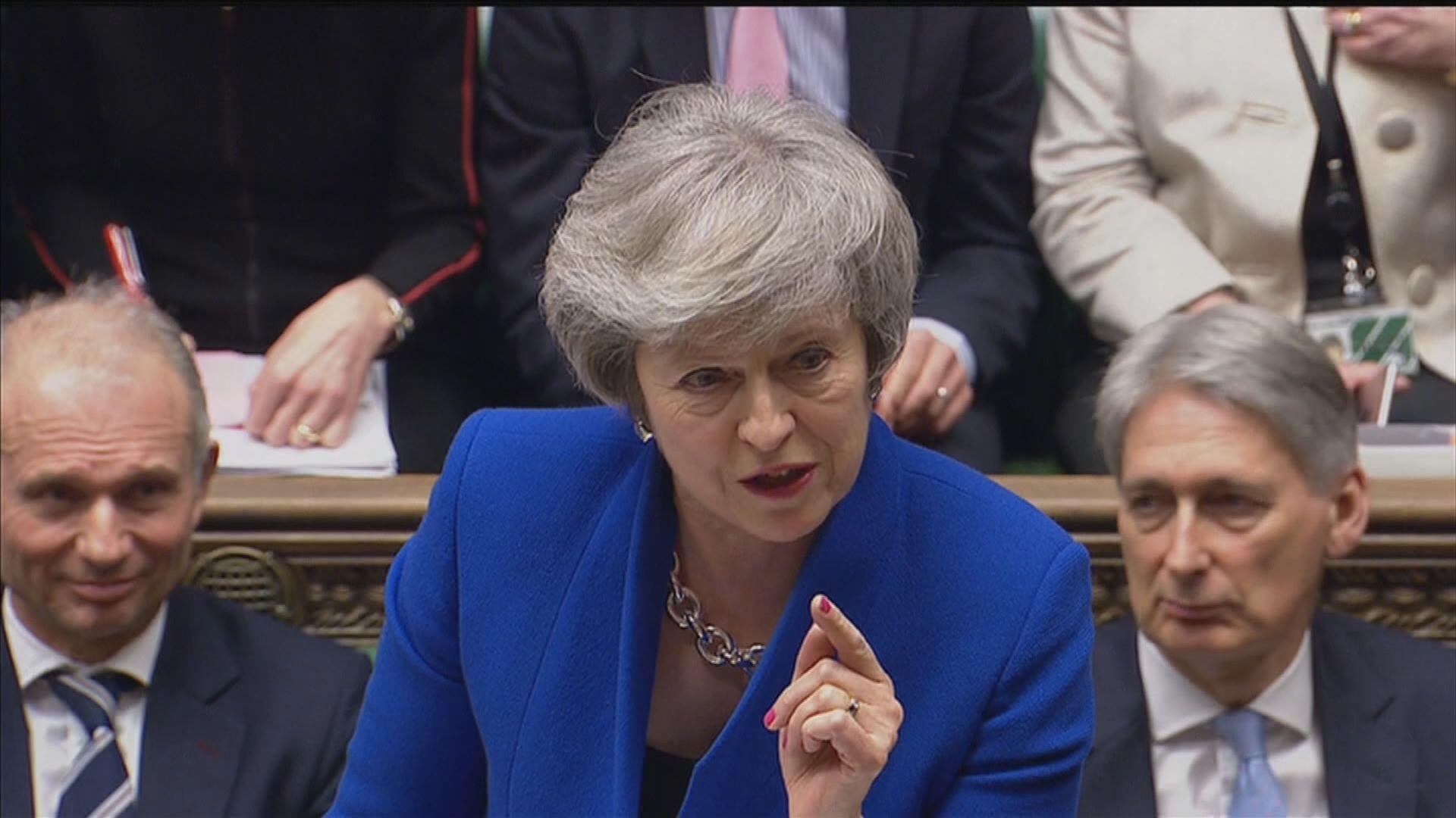 英揆:目前無意押後脫歐期限