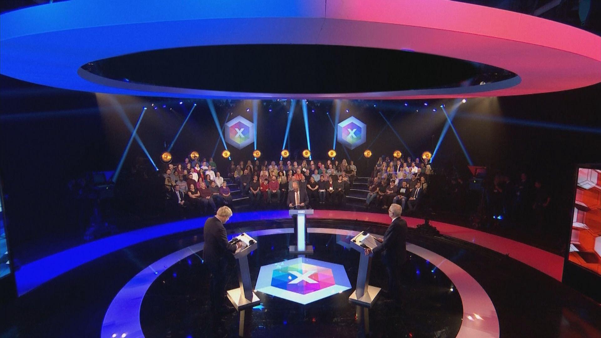 英國兩大黨領袖大選前最後一次辯論
