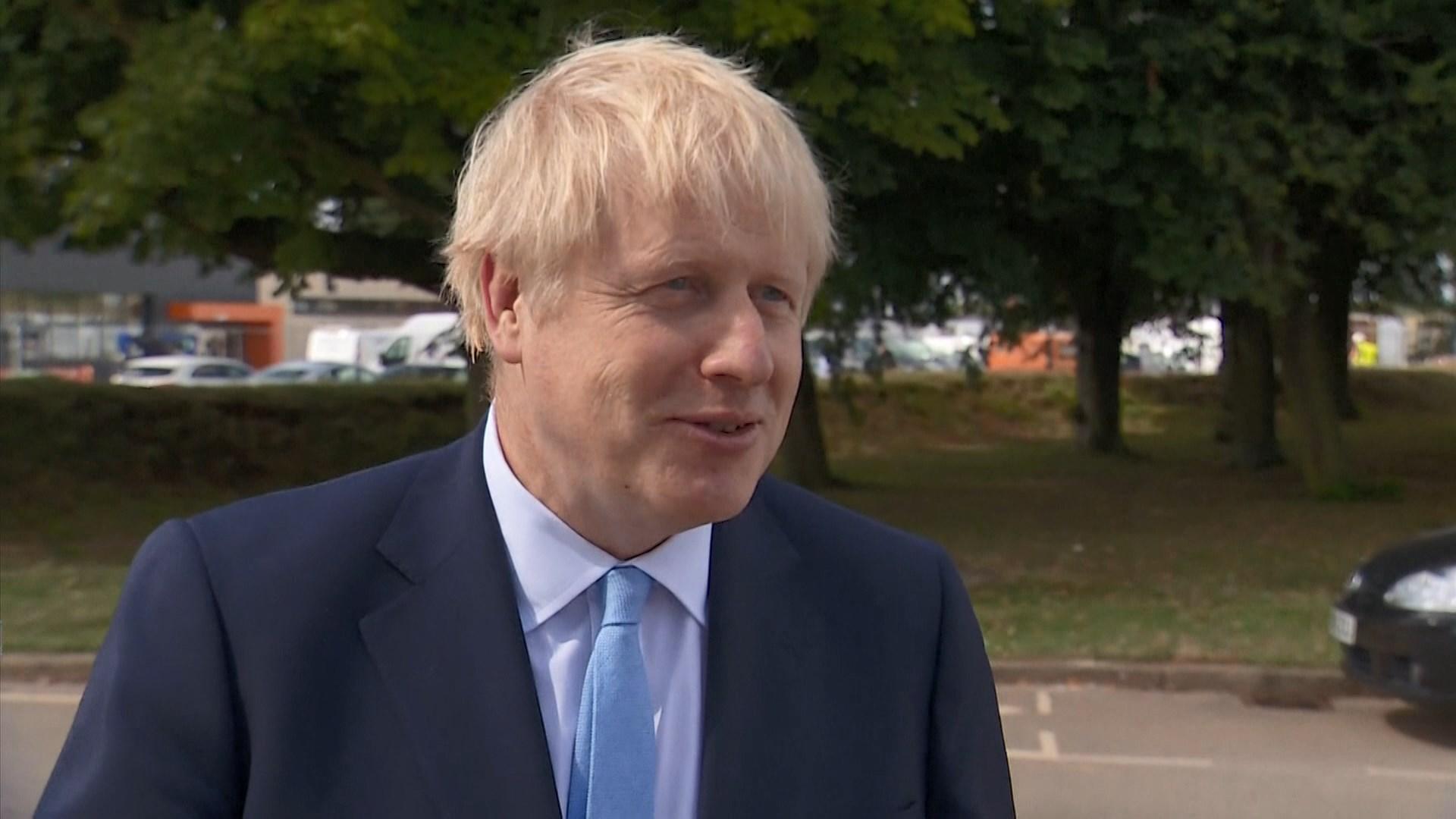 約翰遜不排除英國脫歐後舉行大選