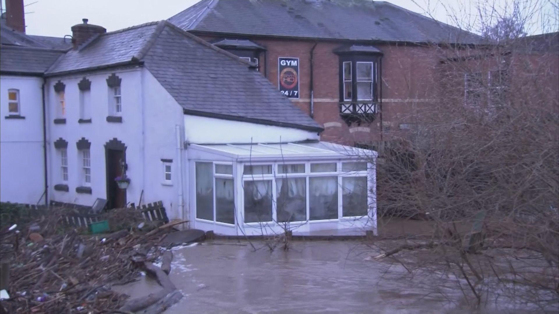 風暴丹尼斯續為英國帶來惡劣天氣