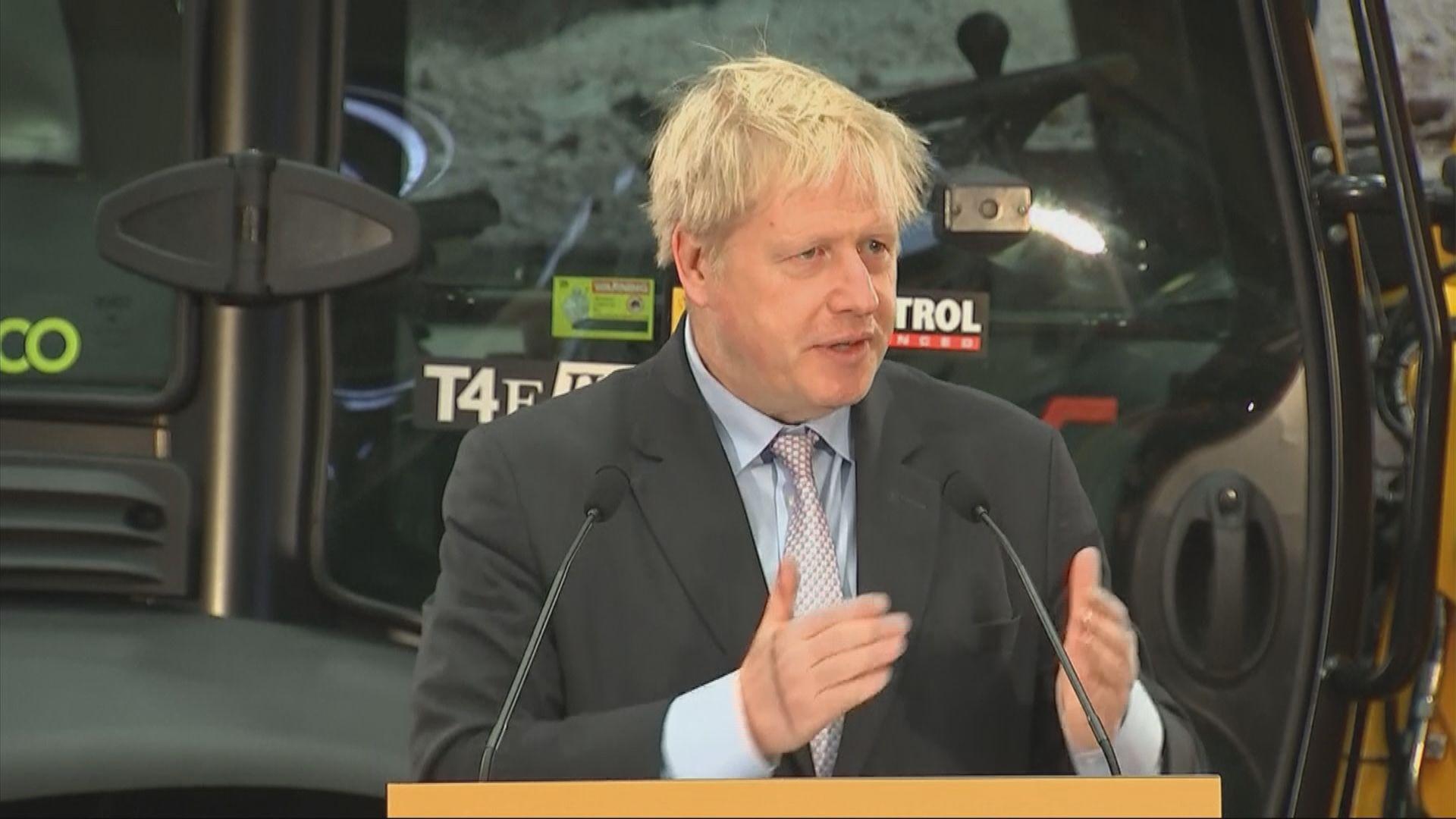 英國前外相約翰遜堅持硬脫歐立場